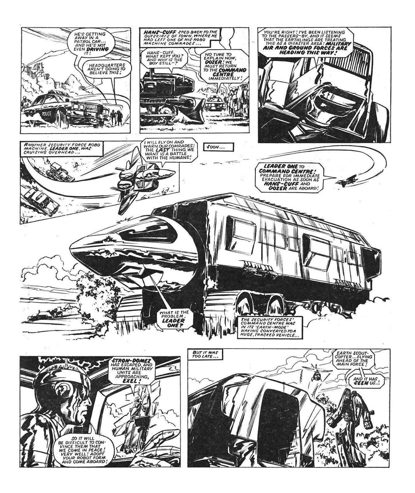 Read online Robo Machines comic -  Issue # TPB - 34