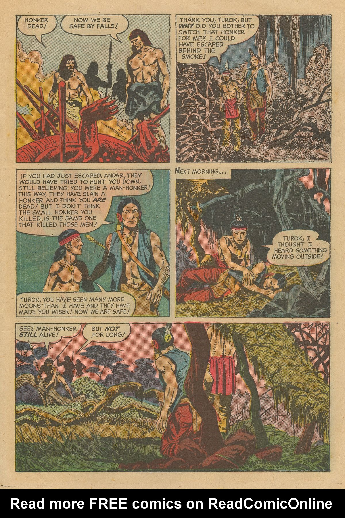 Read online Turok, Son of Stone comic -  Issue #54 - 11