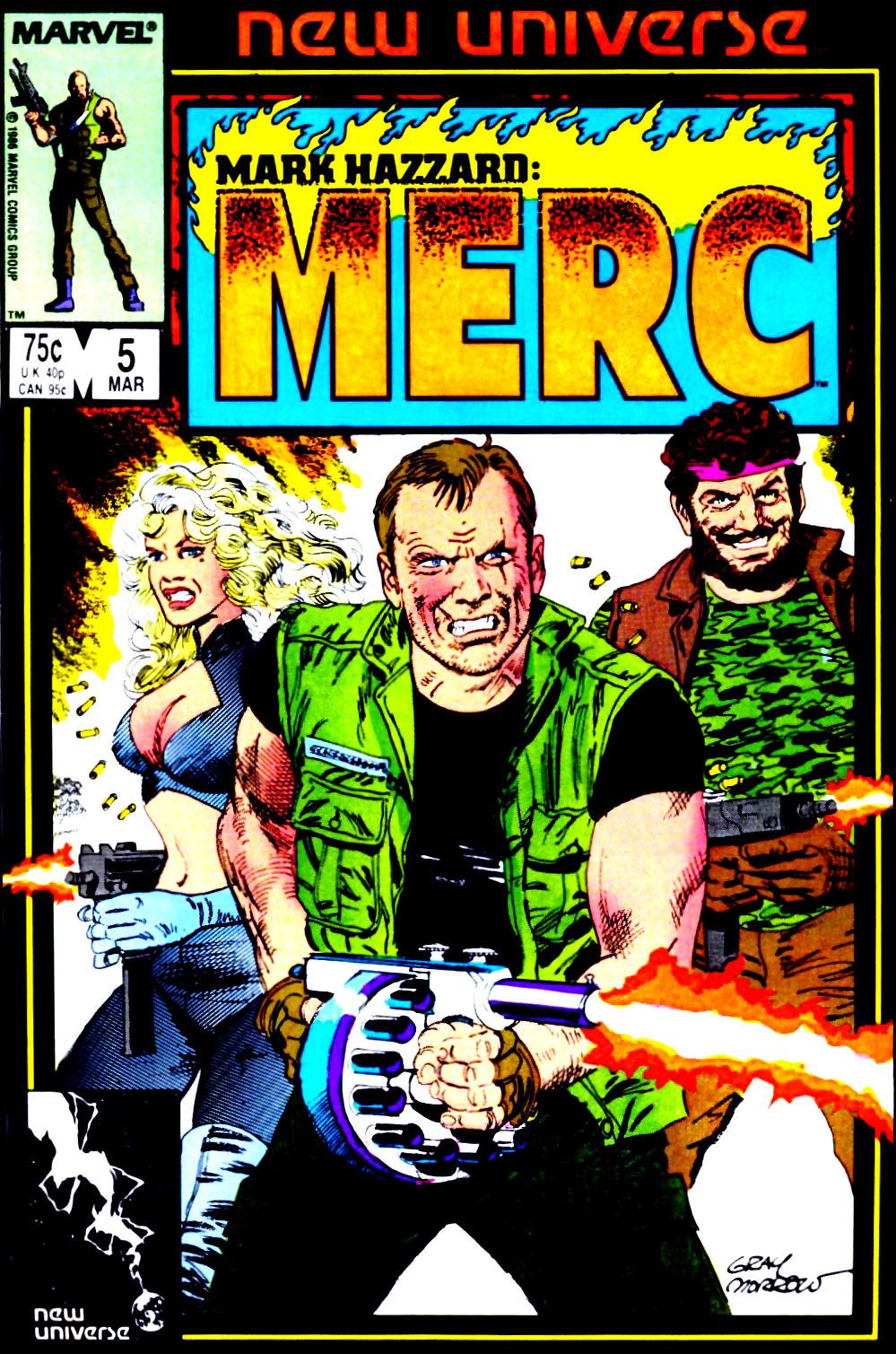 Mark Hazzard: Merc issue 5 - Page 1