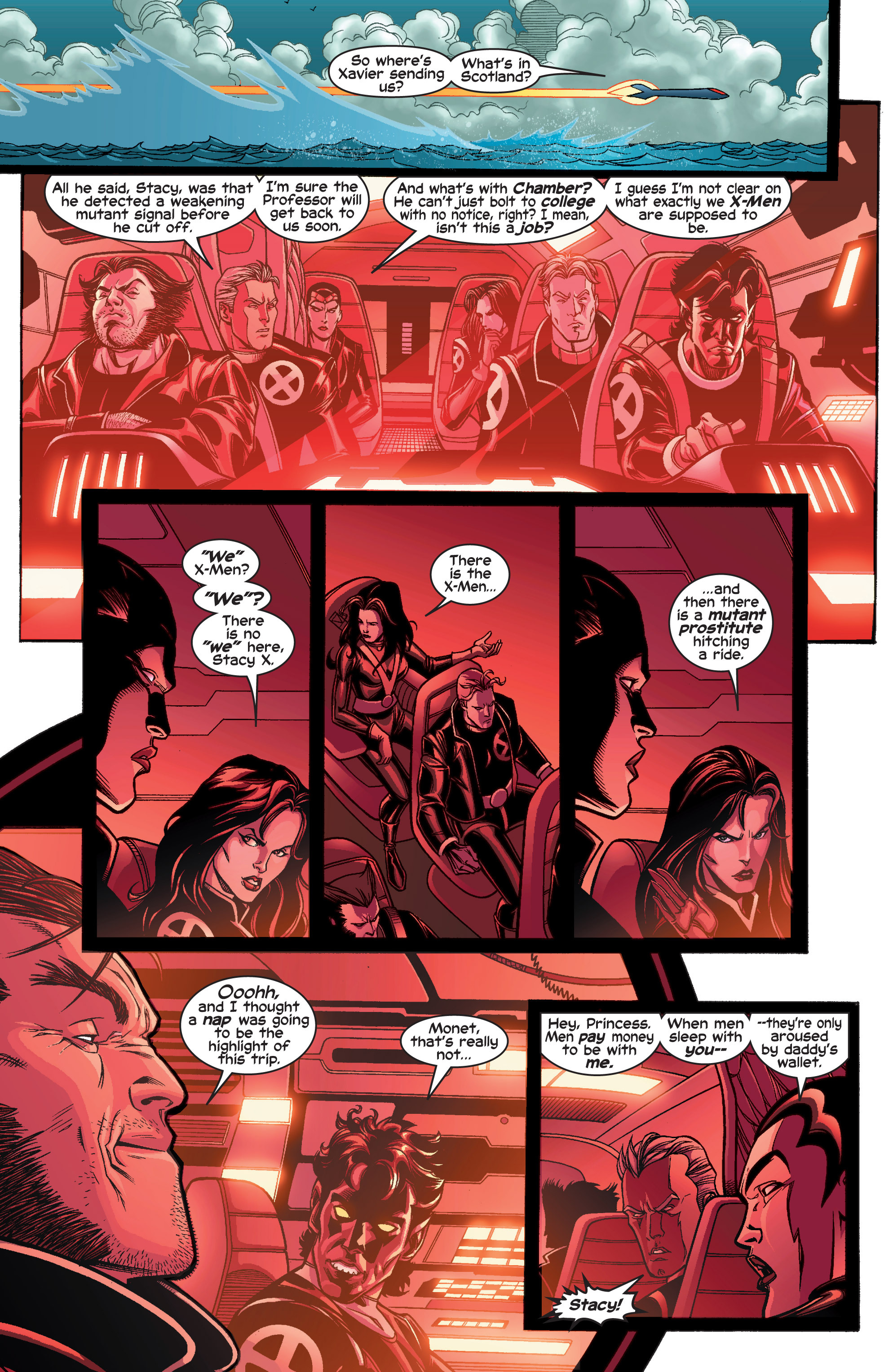 Read online Uncanny X-Men (1963) comic -  Issue #410 - 9