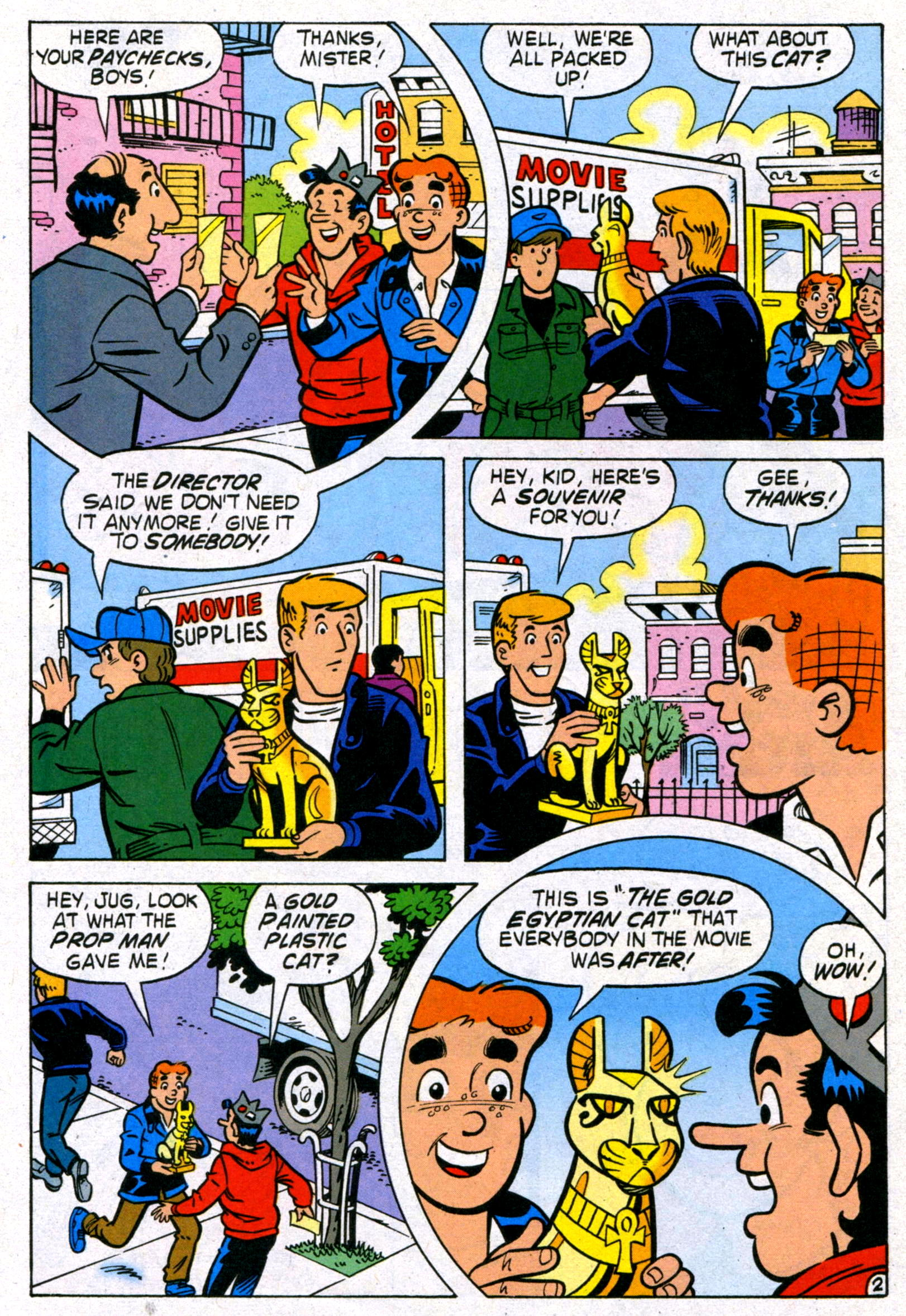 Read online World of Archie comic -  Issue #17 - 22