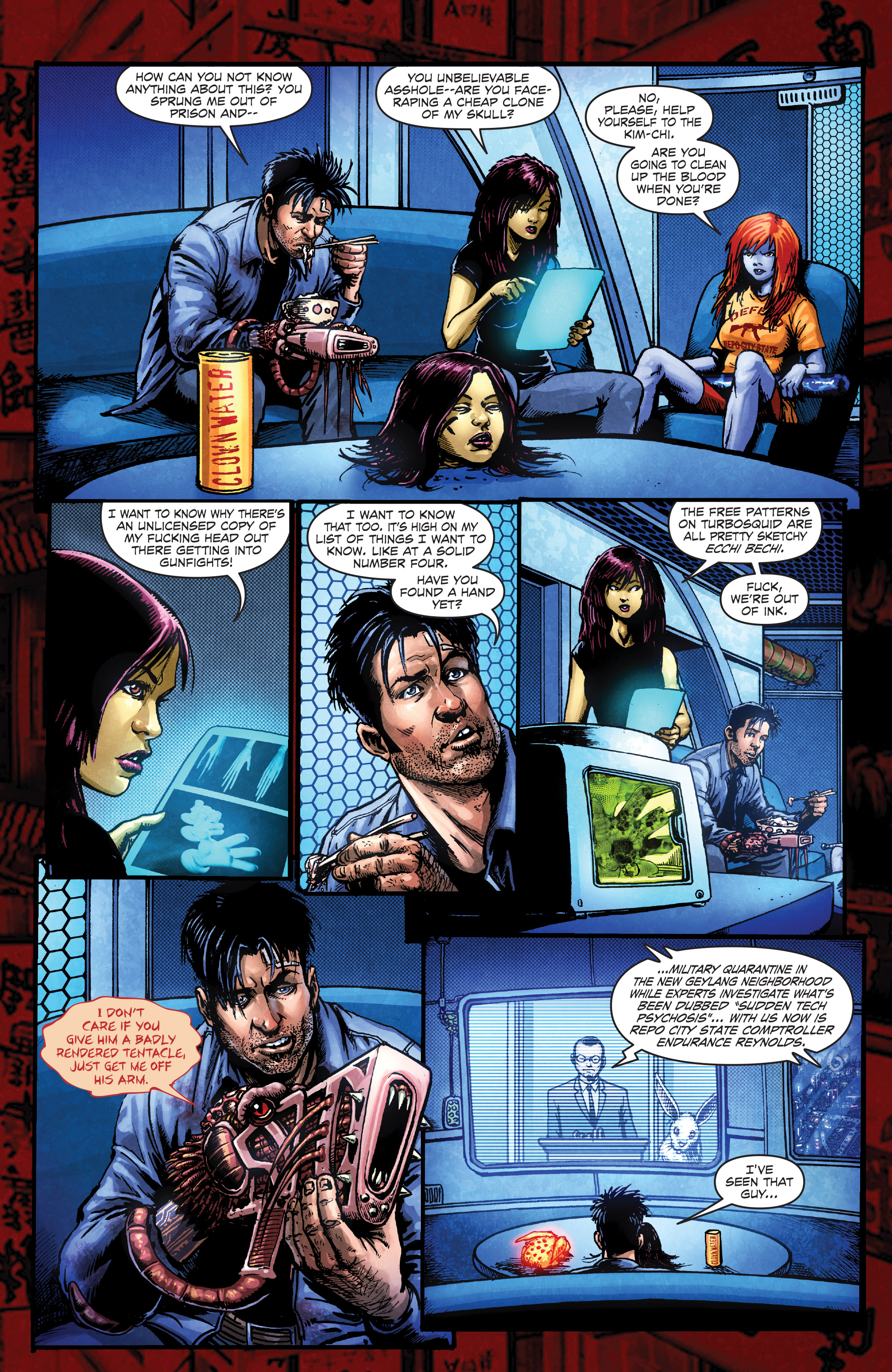 Read online Ballistic (2013) comic -  Issue #3 - 21