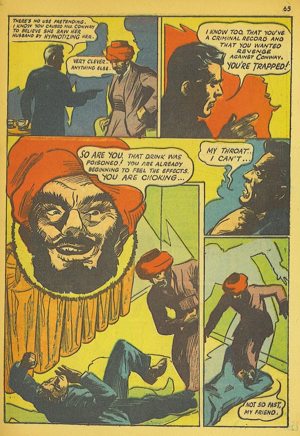 Read online Super-Magician Comics comic -  Issue #19 - 57