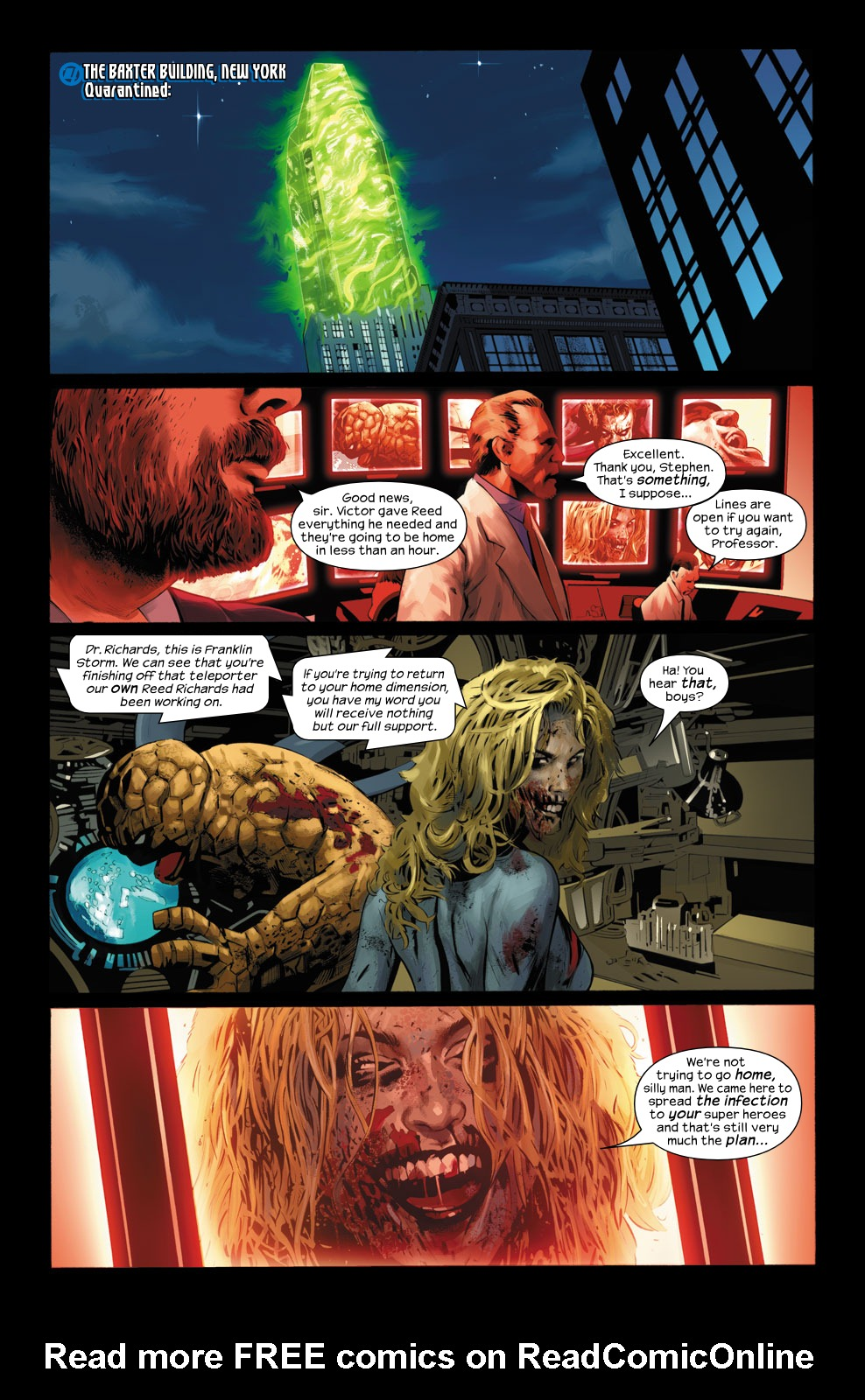 Read online Ultimate Fantastic Four (2004) comic -  Issue #31 - 23