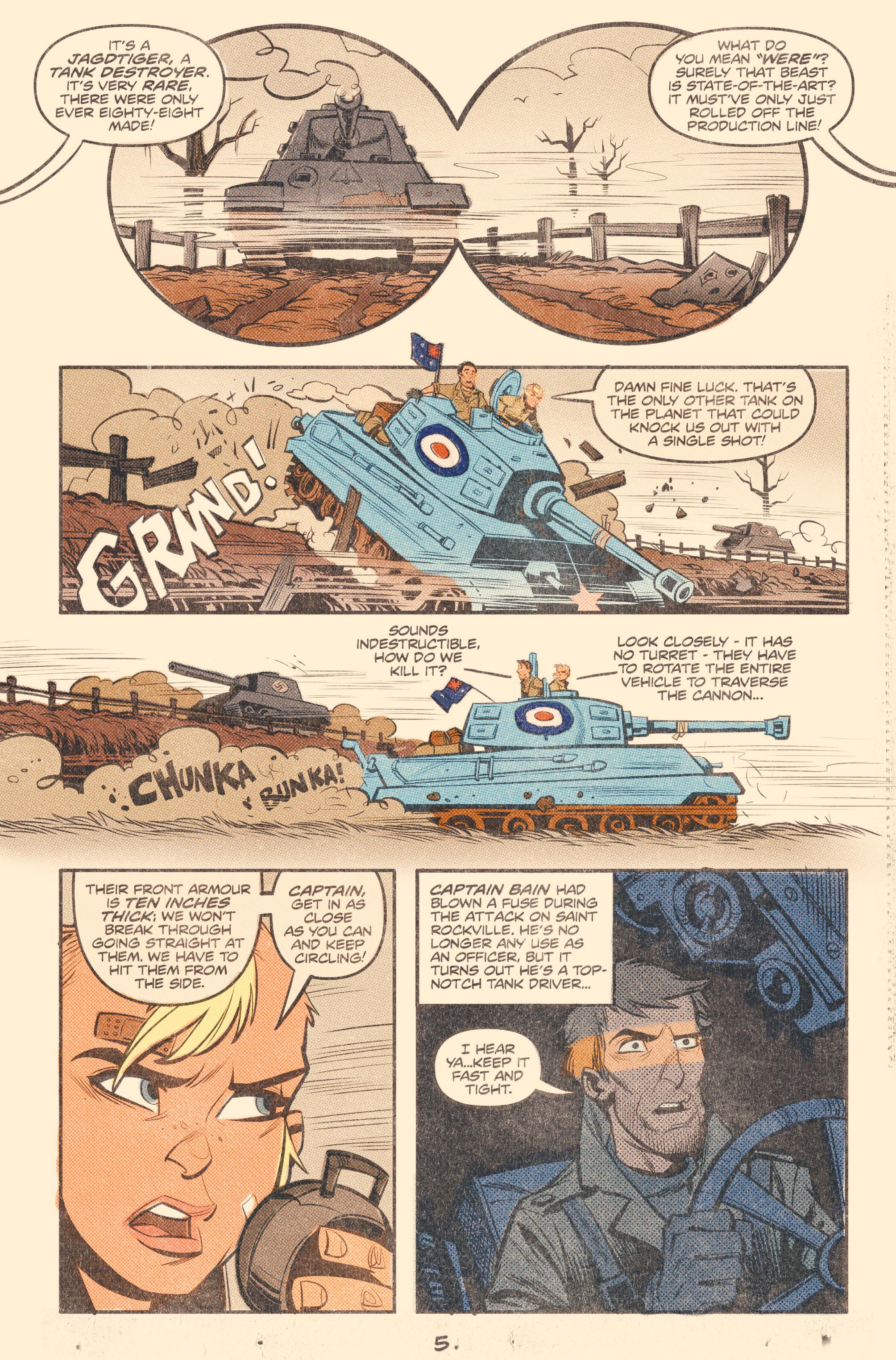 Read online Tank Girl: World War Tank Girl comic -  Issue #2 - 7