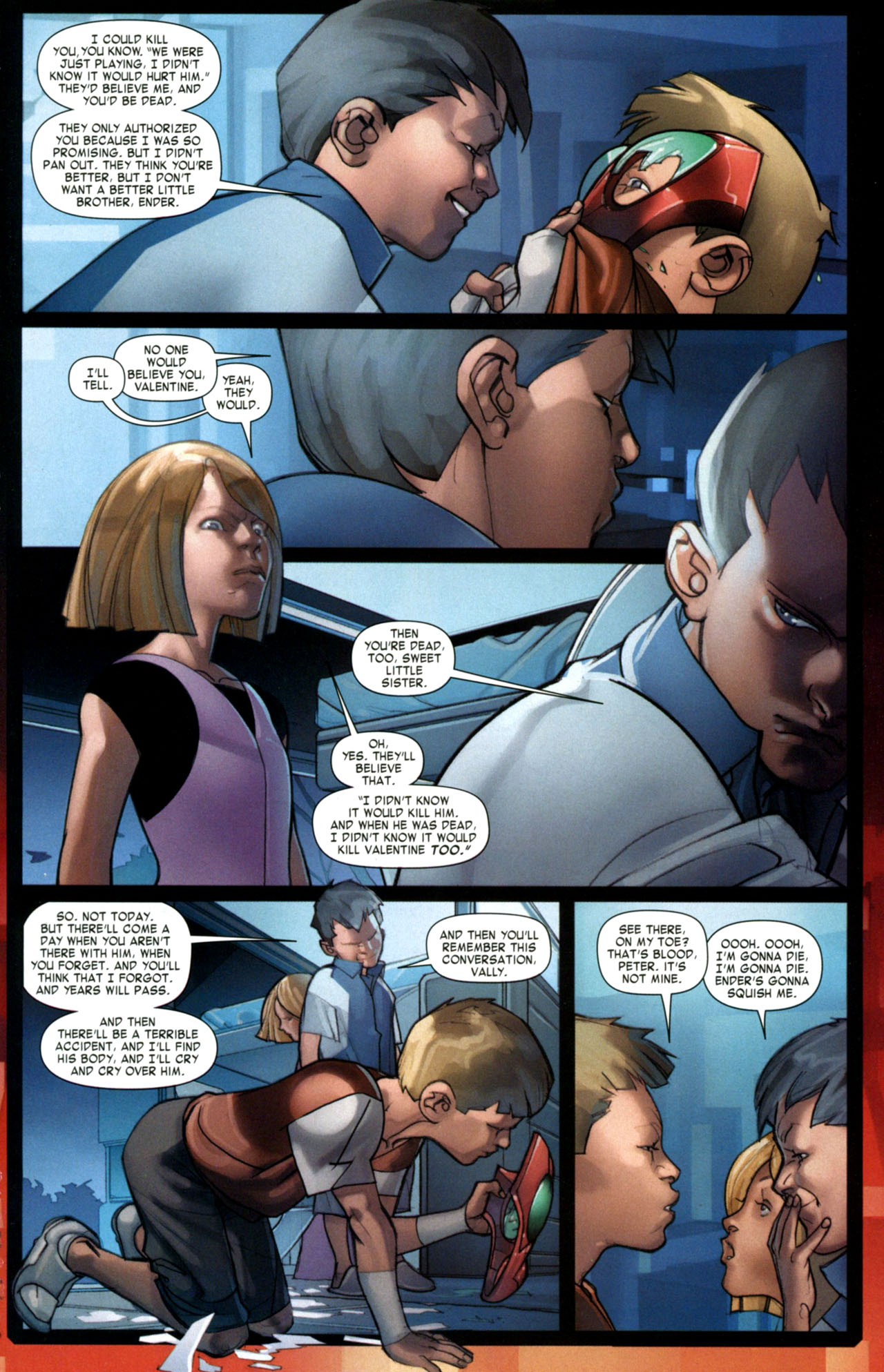 Read online Ender's Game: Battle School comic -  Issue #1 - 17
