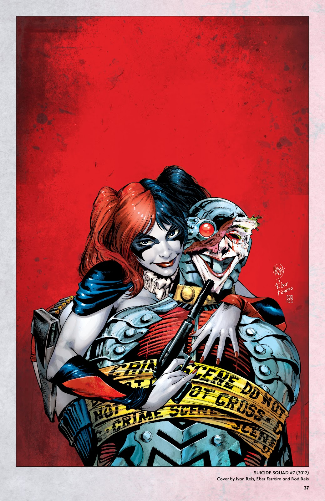 Read online Harley Quinn: A Rogue's Gallery―The Deluxe Cover Art Collection comic -  Issue # TPB (Part 1) - 36