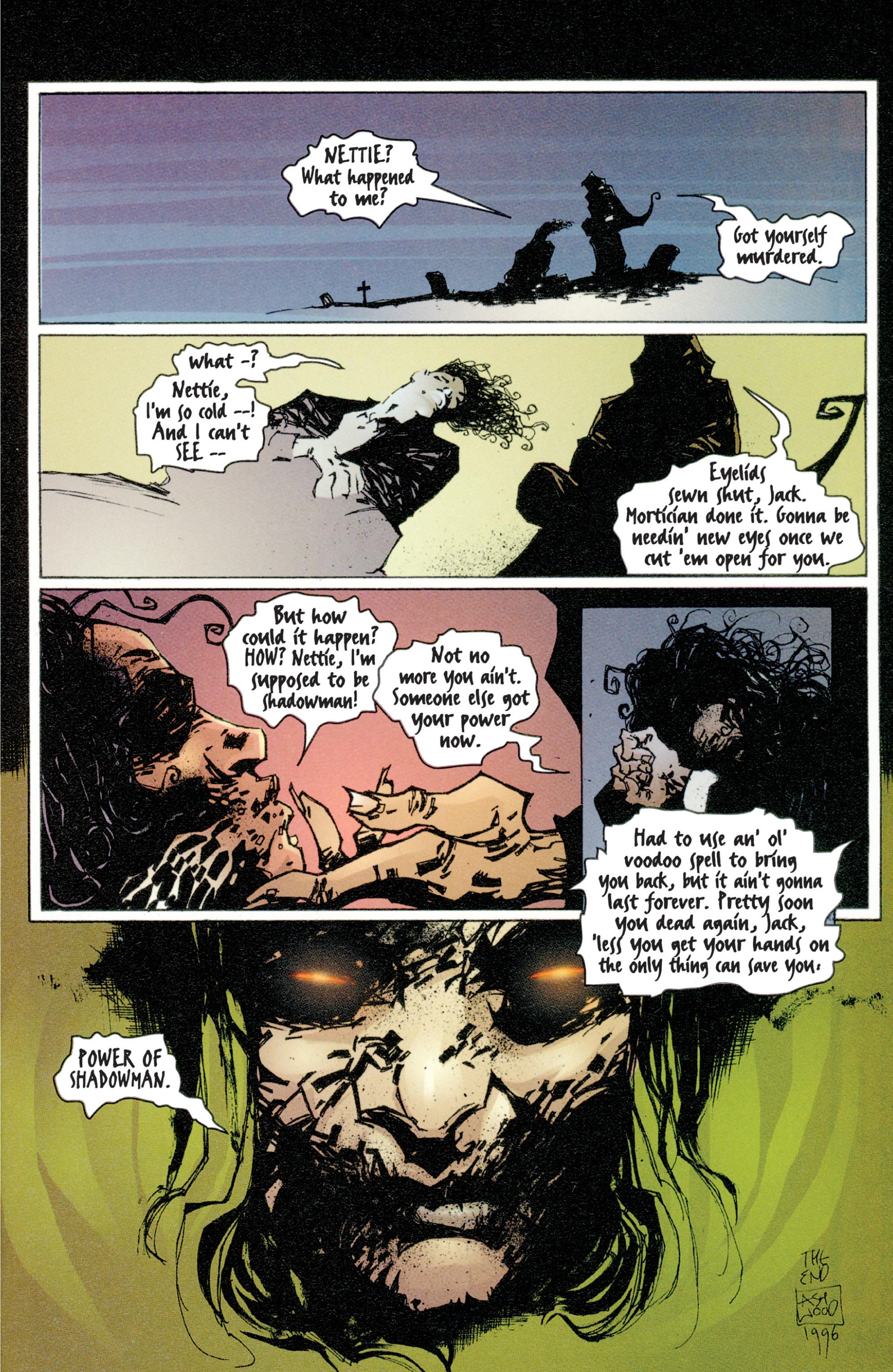 Read online Shadowman (1997) comic -  Issue #4 - 22