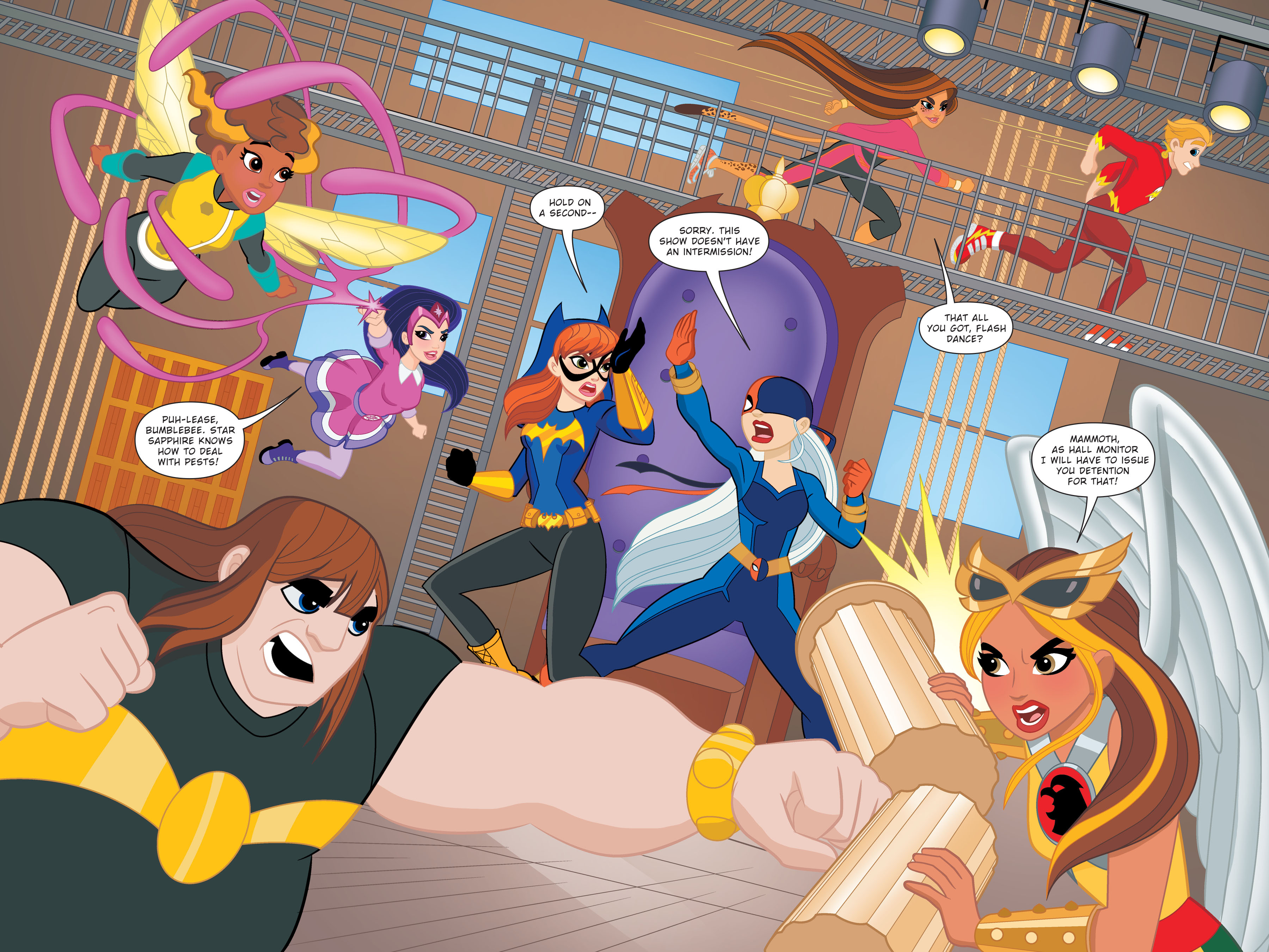 Read online DC Super Hero Girls: Hits and Myths comic -  Issue # Full - 34
