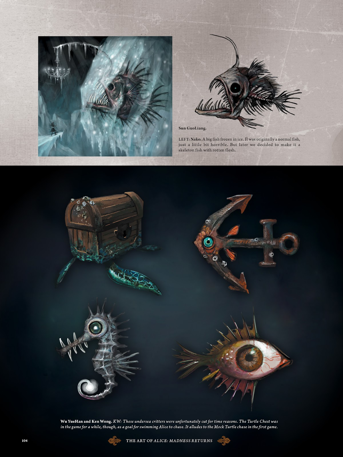 Read online The Art of Alice: Madness Returns comic -  Issue # TPB (Part 2) - 5