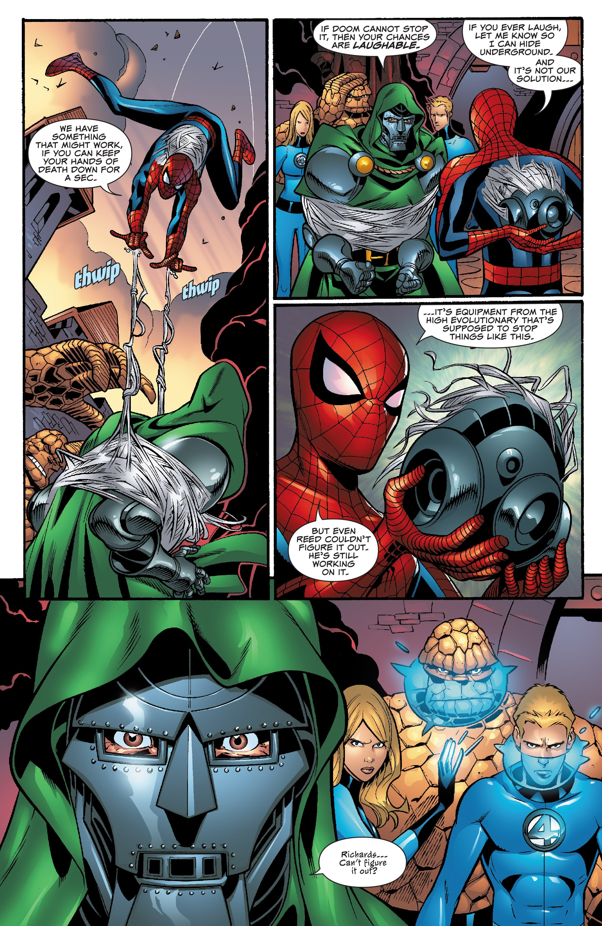 Spider-Man and the Fantastic Four issue 3 - Page 20