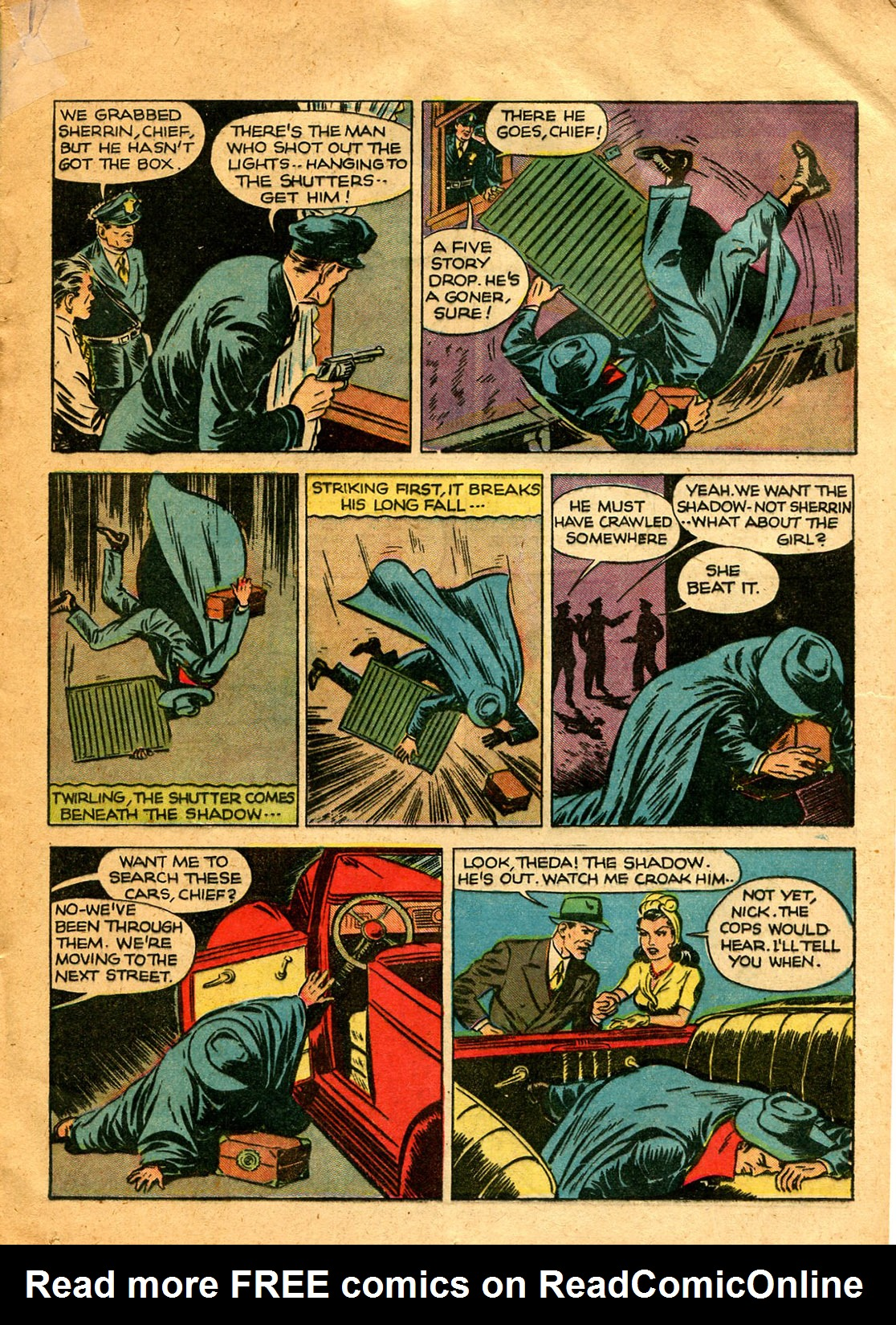 Read online Shadow Comics comic -  Issue #9 - 23