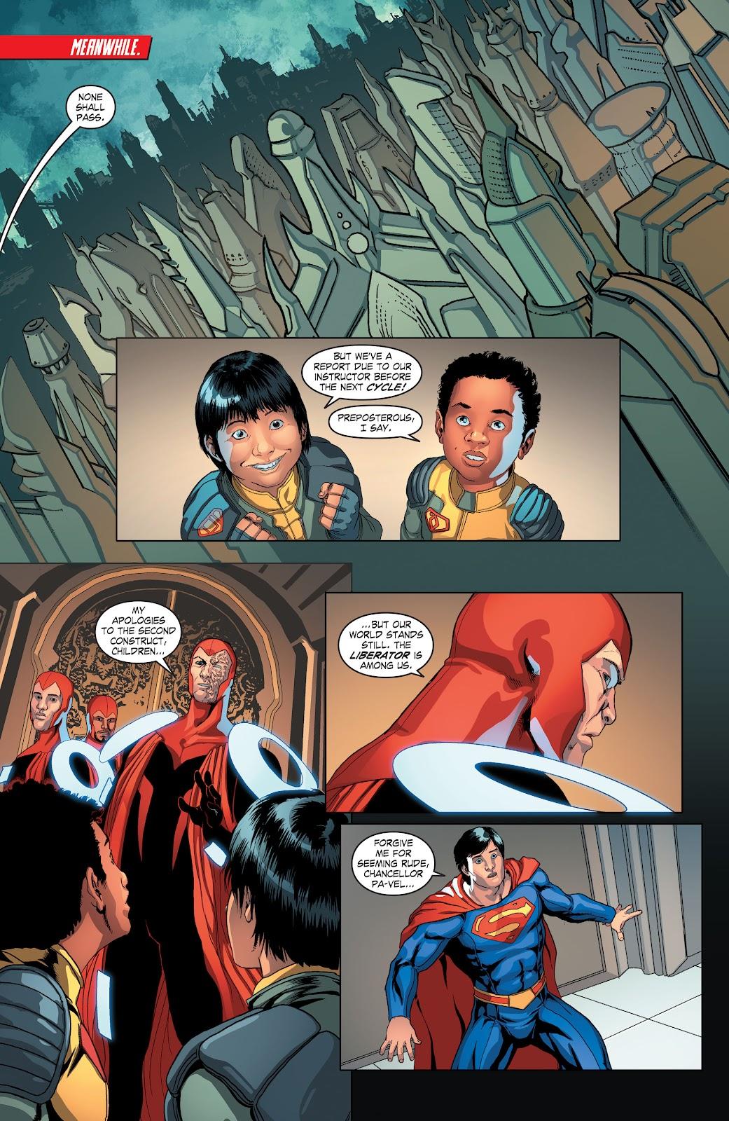 Read online Smallville Season 11 [II] comic -  Issue # TPB 4 - 52