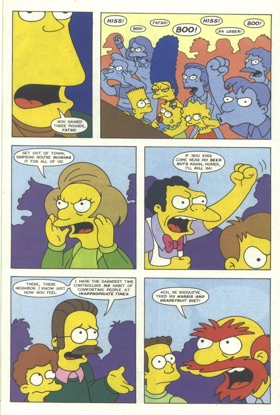 Read online Simpsons Comics comic -  Issue #18 - 16