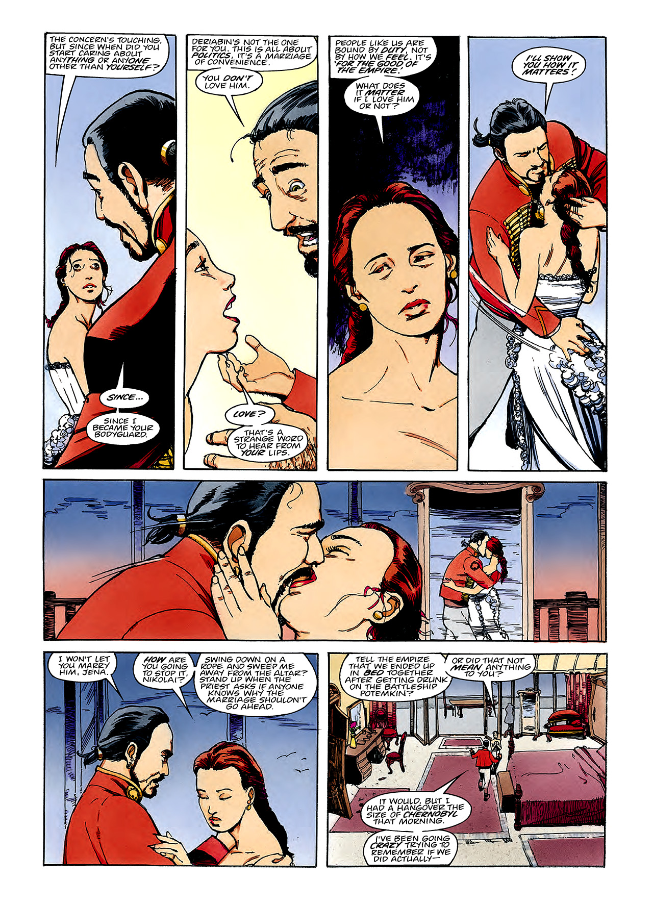 Read online Nikolai Dante comic -  Issue # TPB 3 - 72