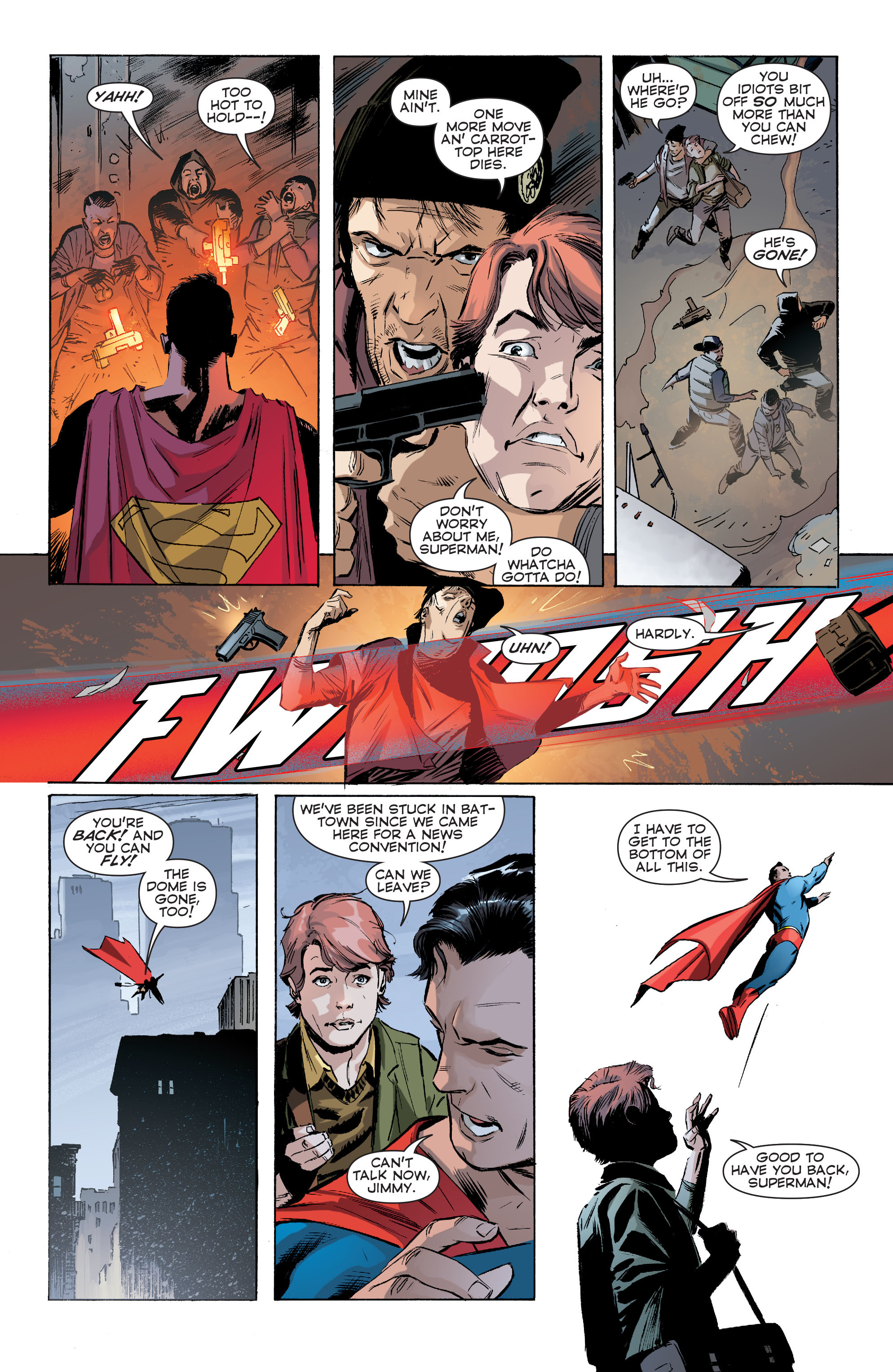 Read online Convergence Superman comic -  Issue #1 - 8
