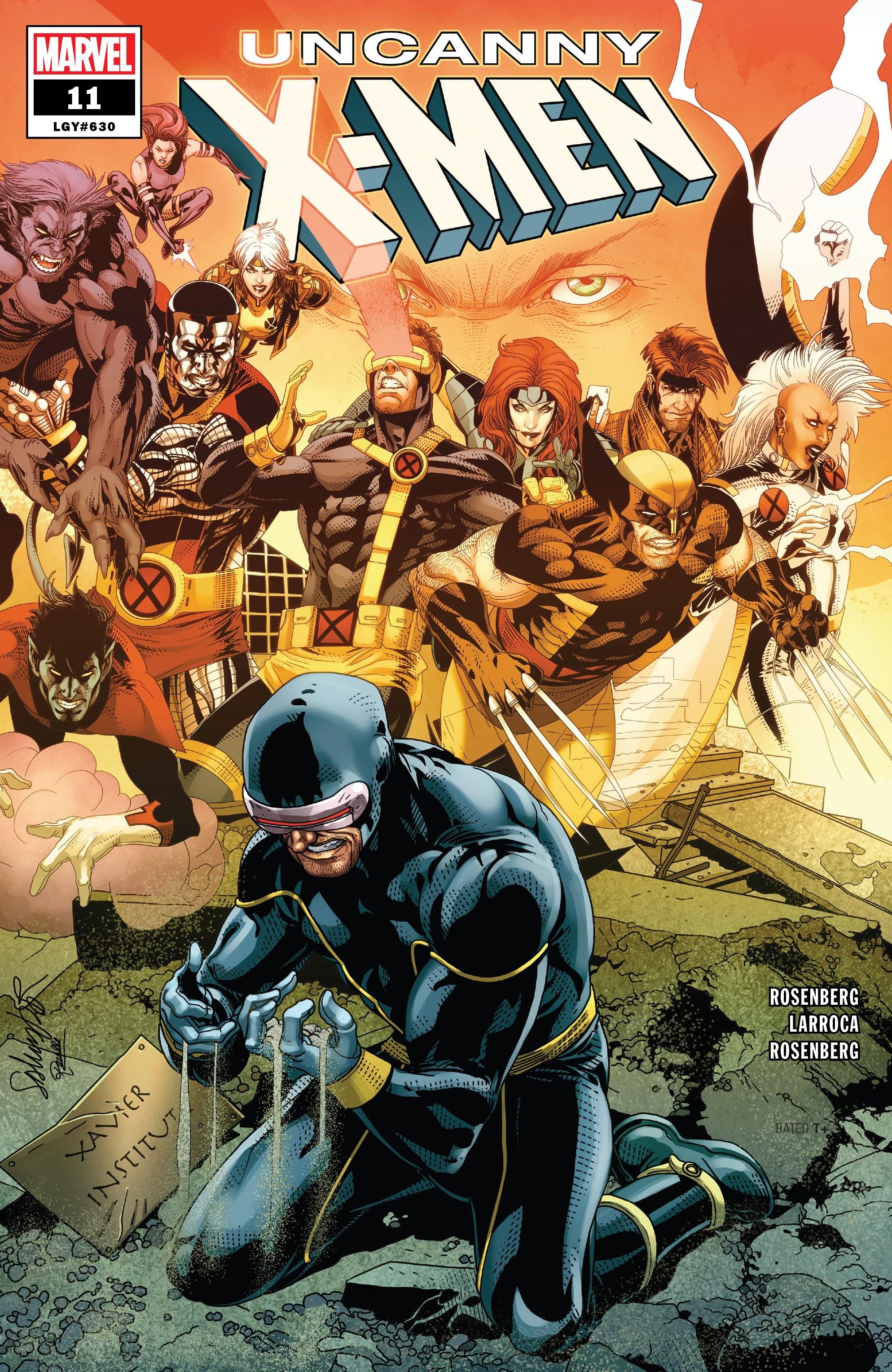 Uncanny X-Men (2019) 11 Page 1