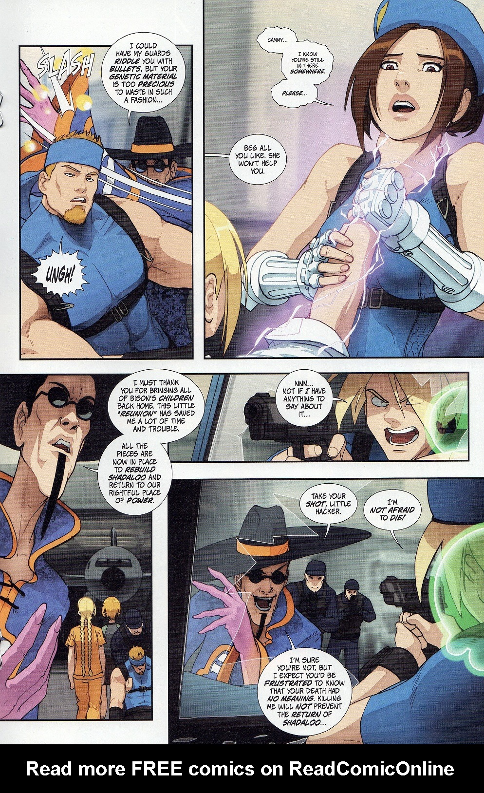 Street Fighter Legends: Cammy 3 Page 19