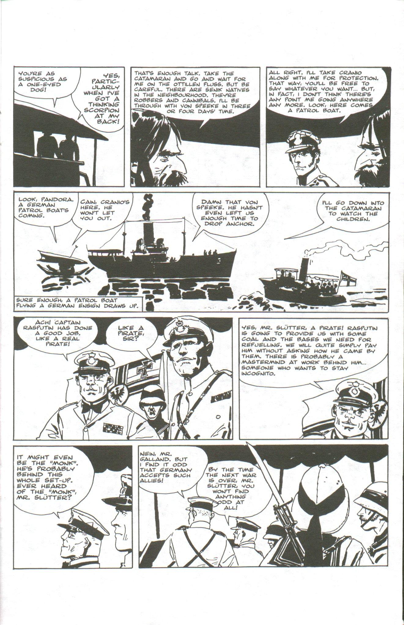 Read online Corto Maltese: Ballad of the Salt Sea comic -  Issue #1 - 21
