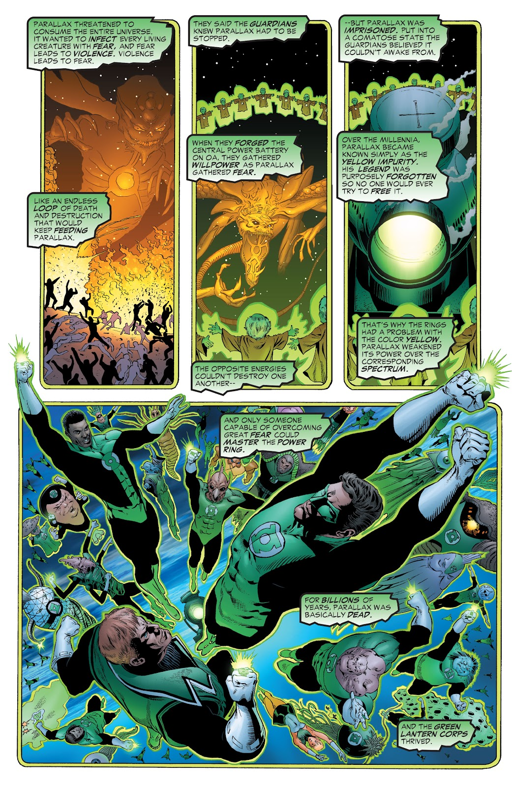 Read online Green Lantern by Geoff Johns comic -  Issue # TPB 1 (Part 1) - 81