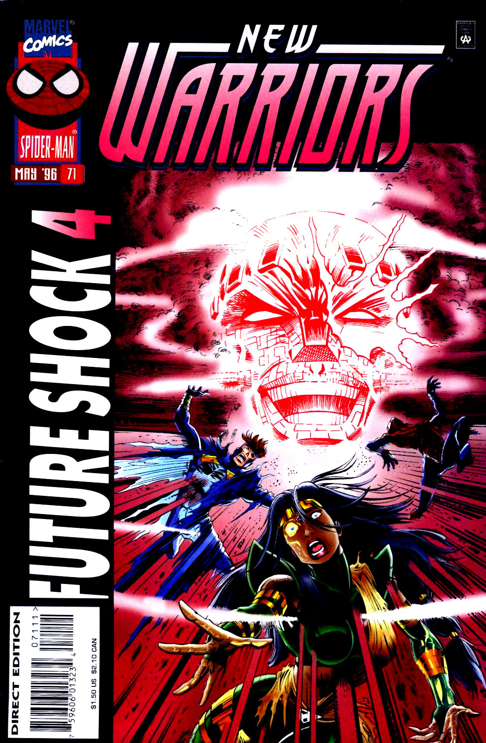 The New Warriors Issue #71 #75 - English 1