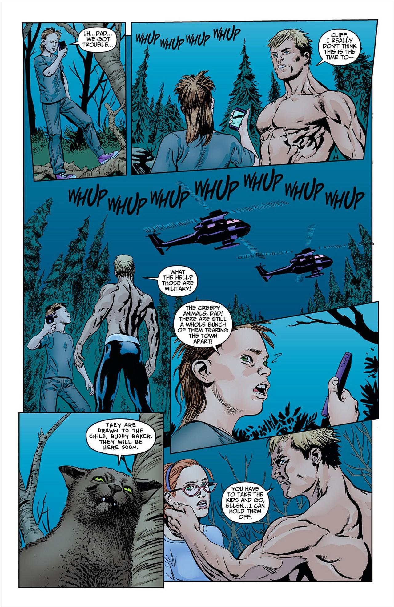 Read online Animal Man (2011) comic -  Issue #8 - 11