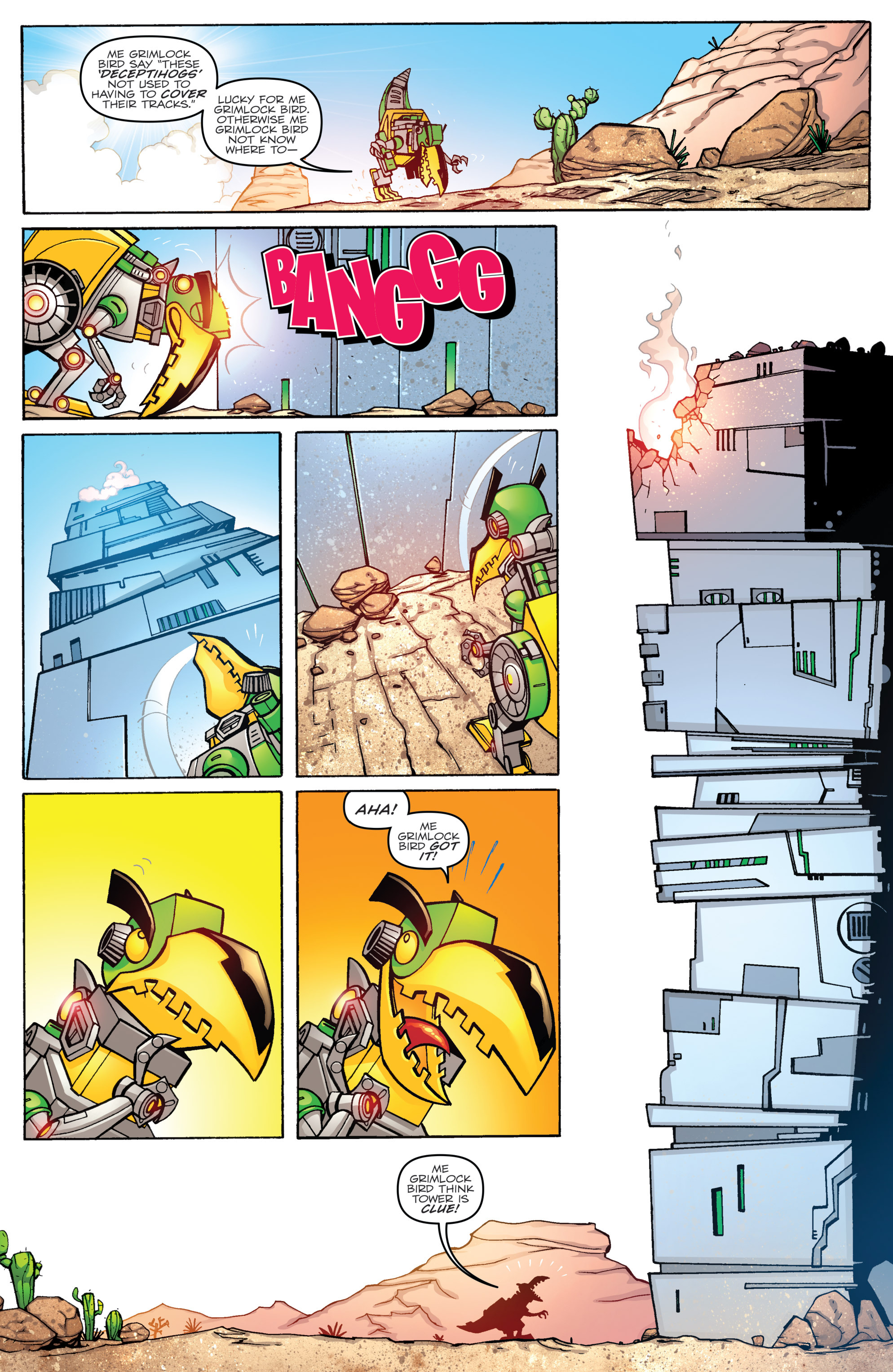 Read online Angry Birds Transformers comic -  Issue #2 - 12