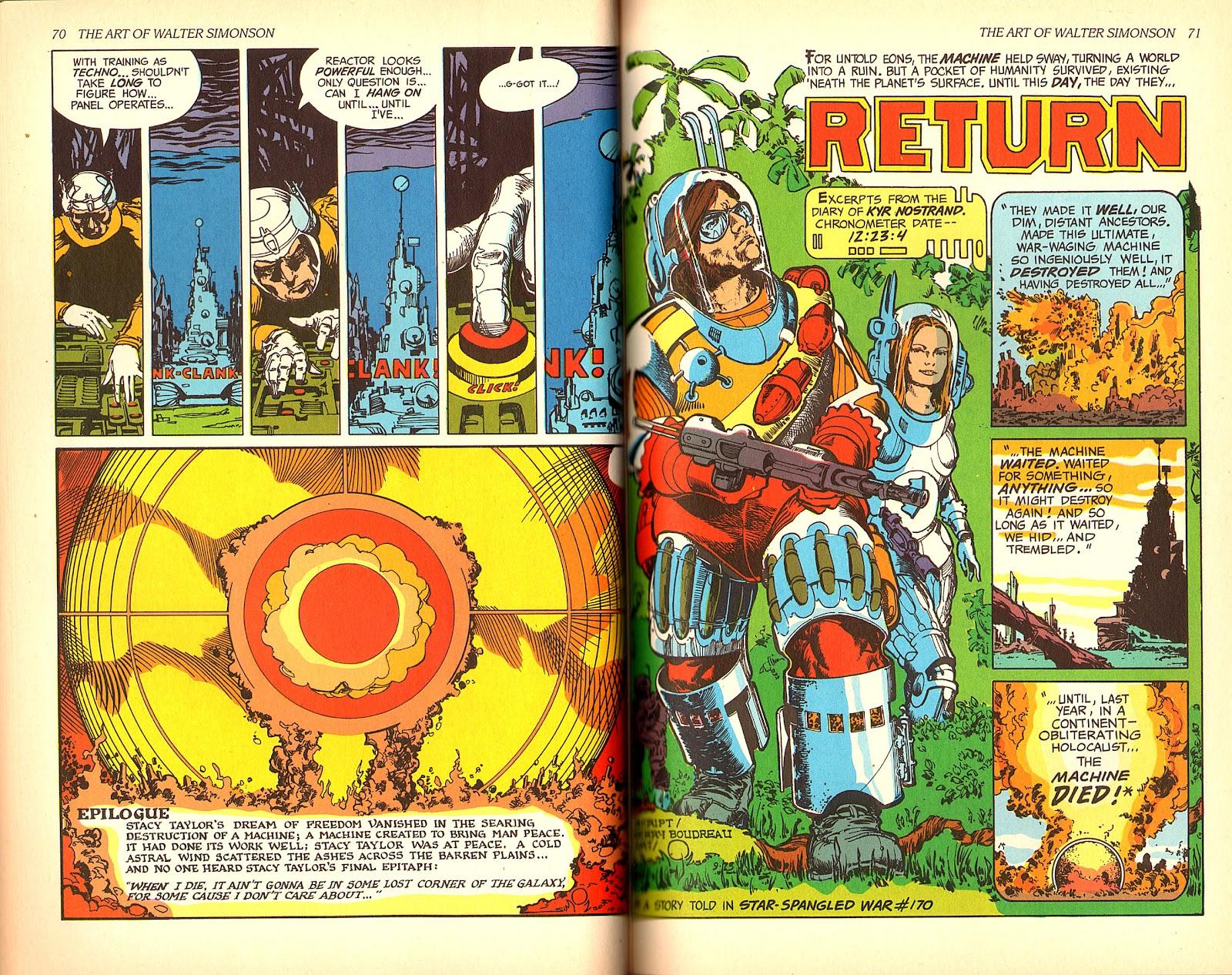 Read online The Art of Walter Simonson comic -  Issue # TPB - 37