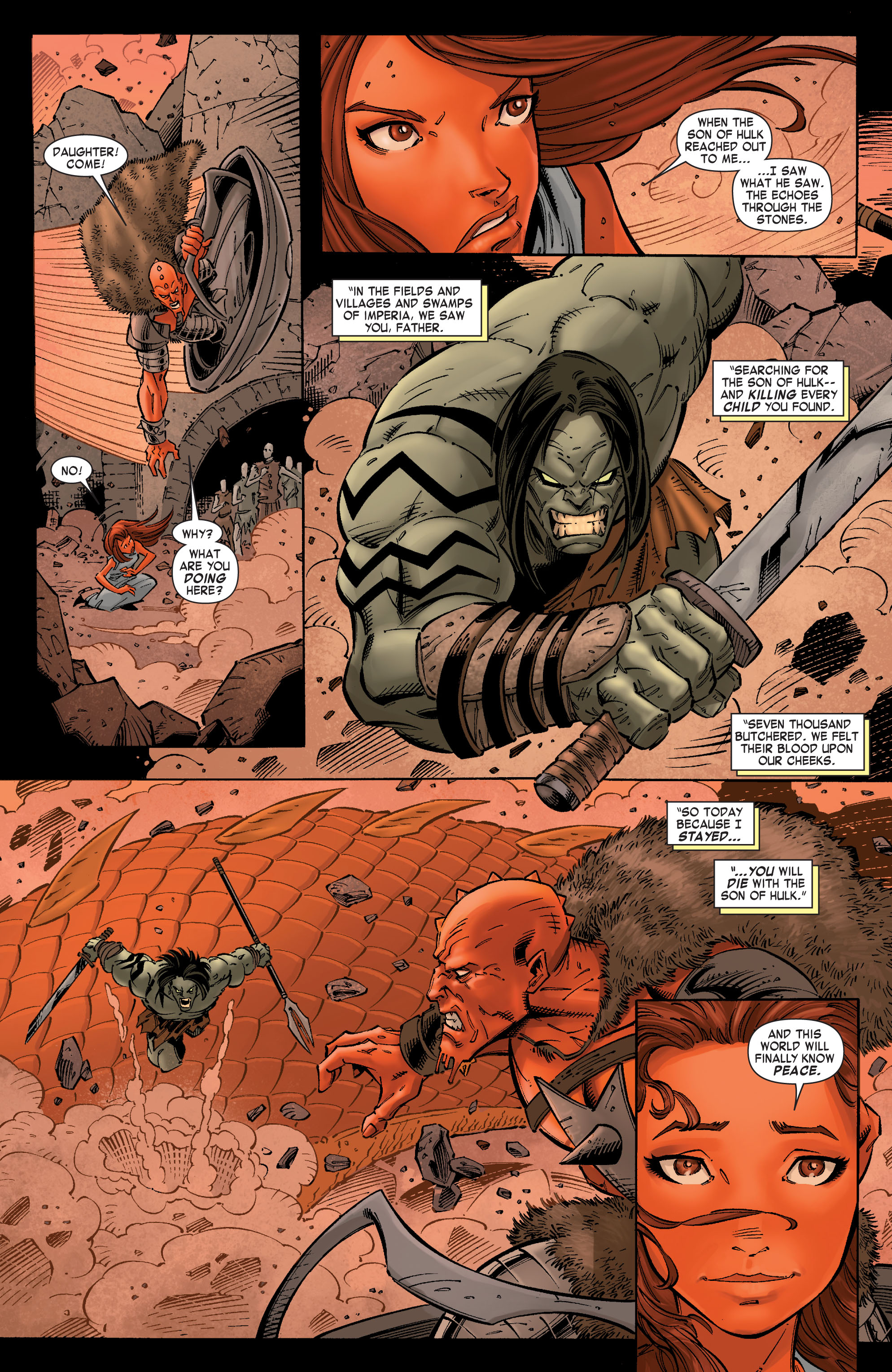 Read online Skaar: Son of Hulk comic -  Issue #8 - 21