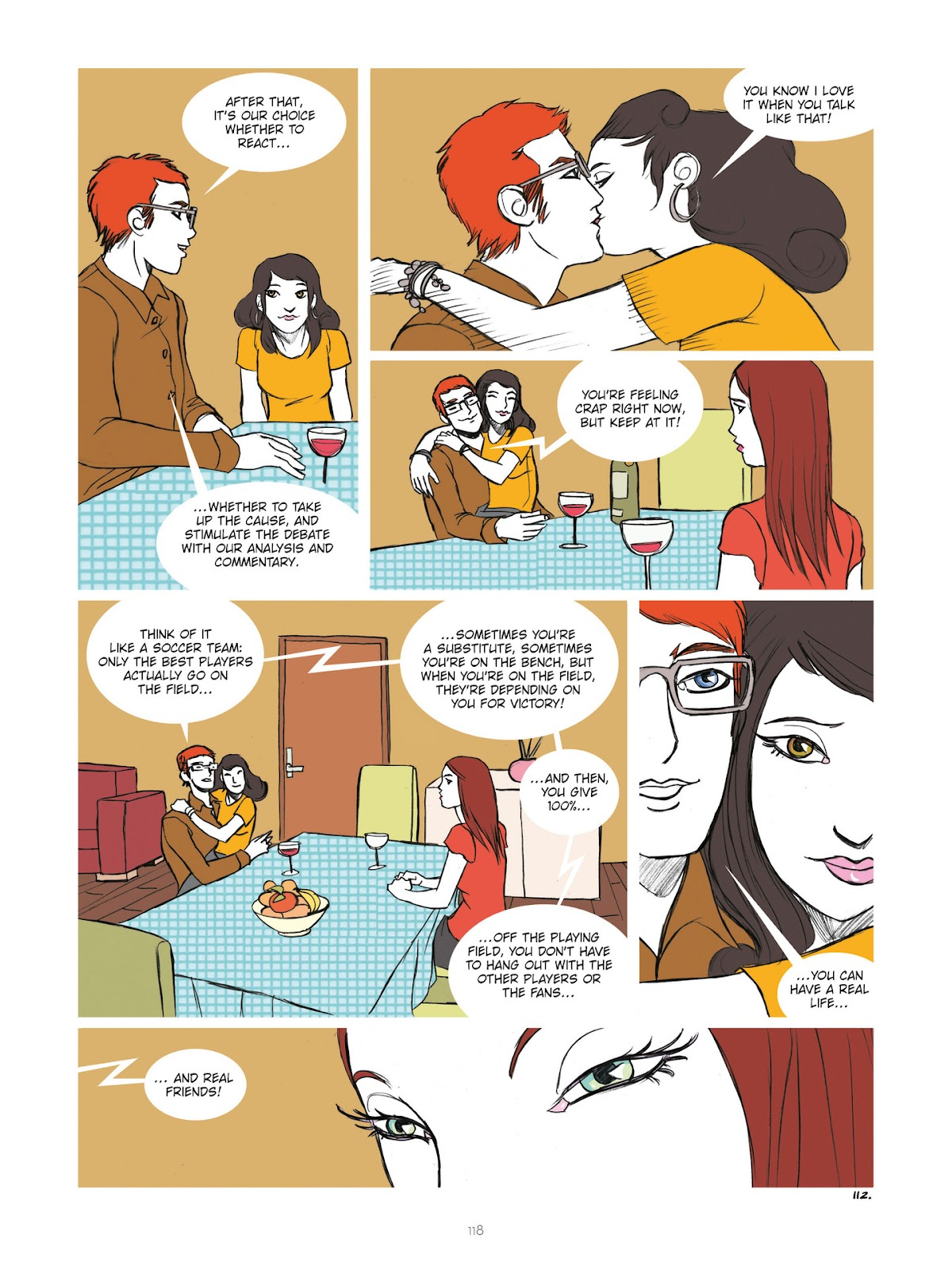 Read online Diary of A Femen comic -  Issue # TPB - 120
