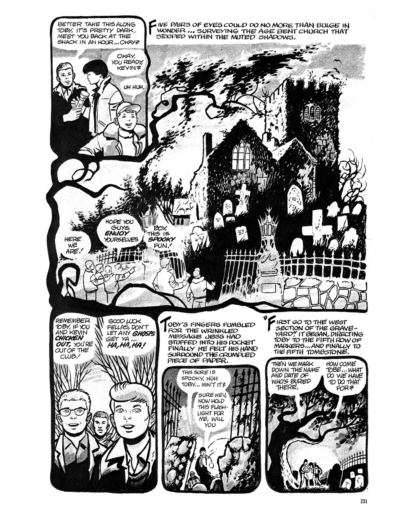 Read online Eerie Archives comic -  Issue # TPB 4 - 231