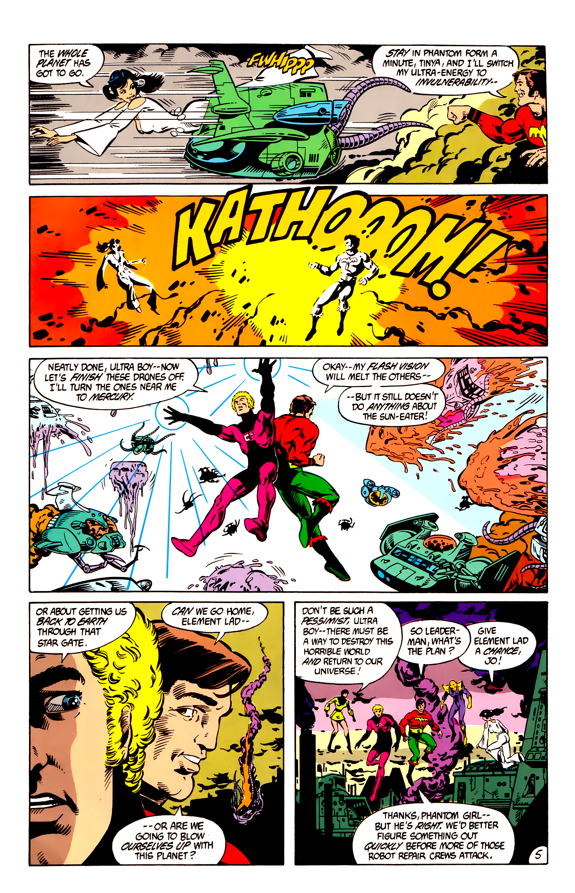 Legion of Super-Heroes (1984) 8 Page 6