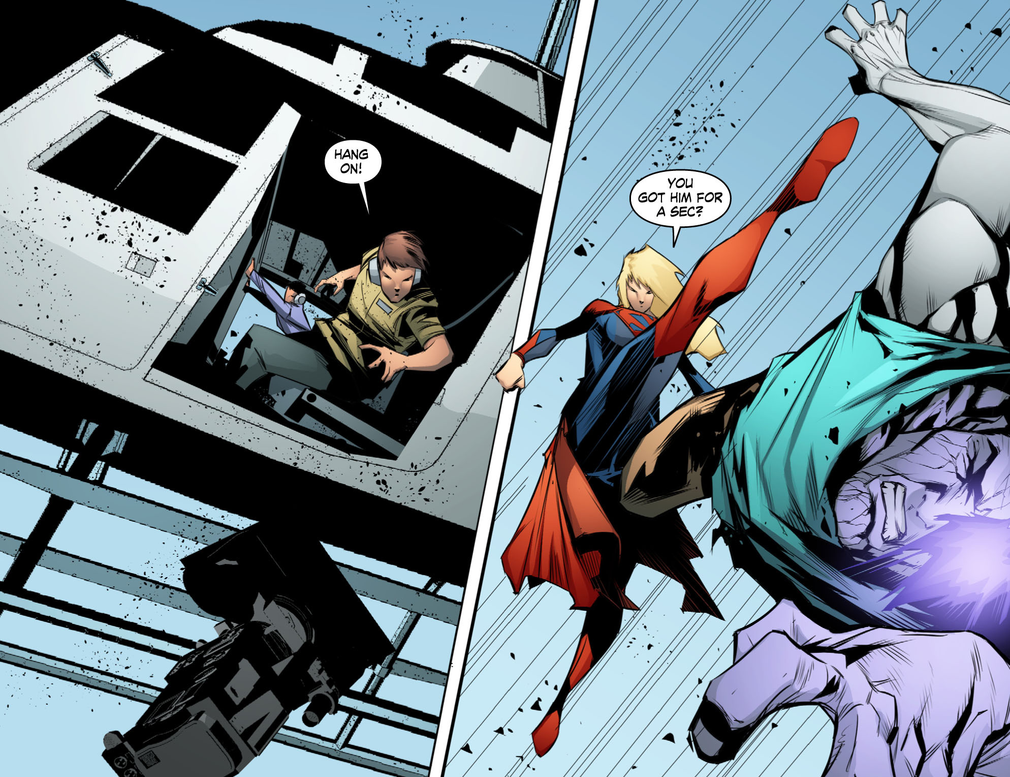 Read online Smallville: Chaos [II] comic -  Issue #10 - 6