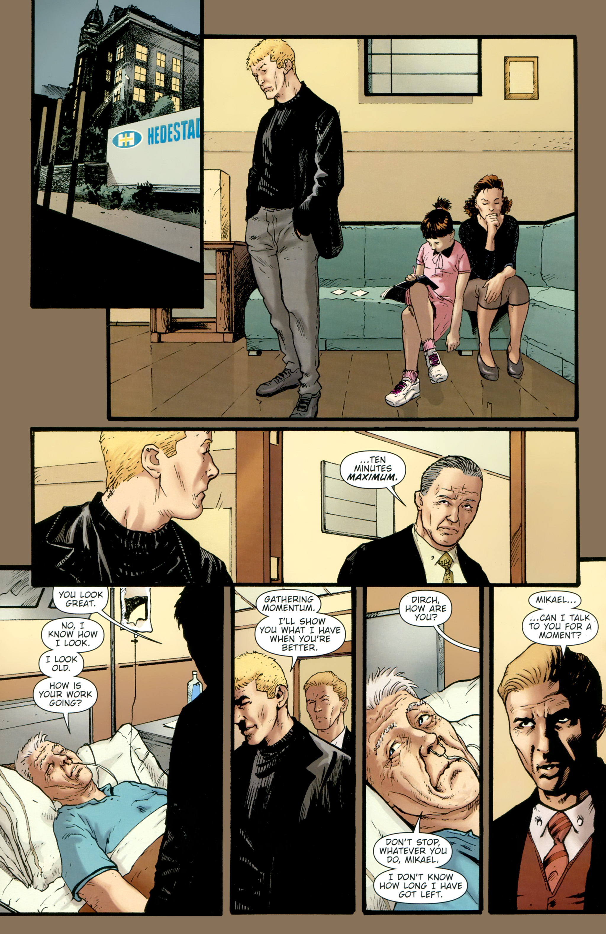 Read online The Girl With the Dragon Tattoo comic -  Issue # TPB 2 - 60