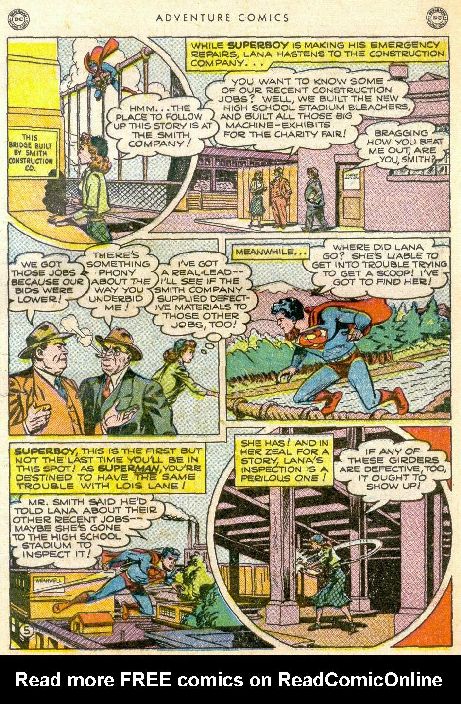 Read online Adventure Comics (1938) comic -  Issue #161 - 7