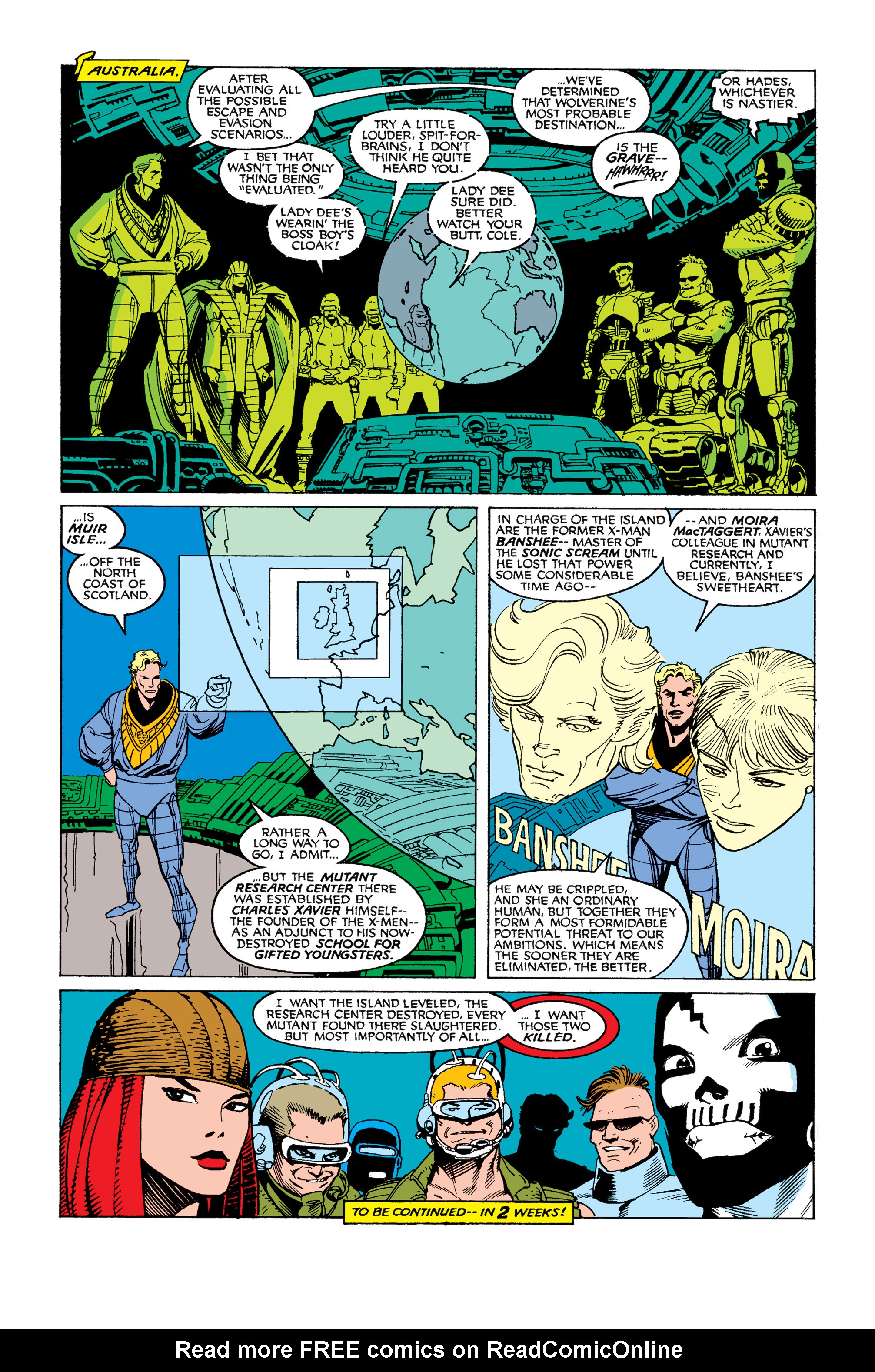 Read online Uncanny X-Men (1963) comic -  Issue #253 - 24