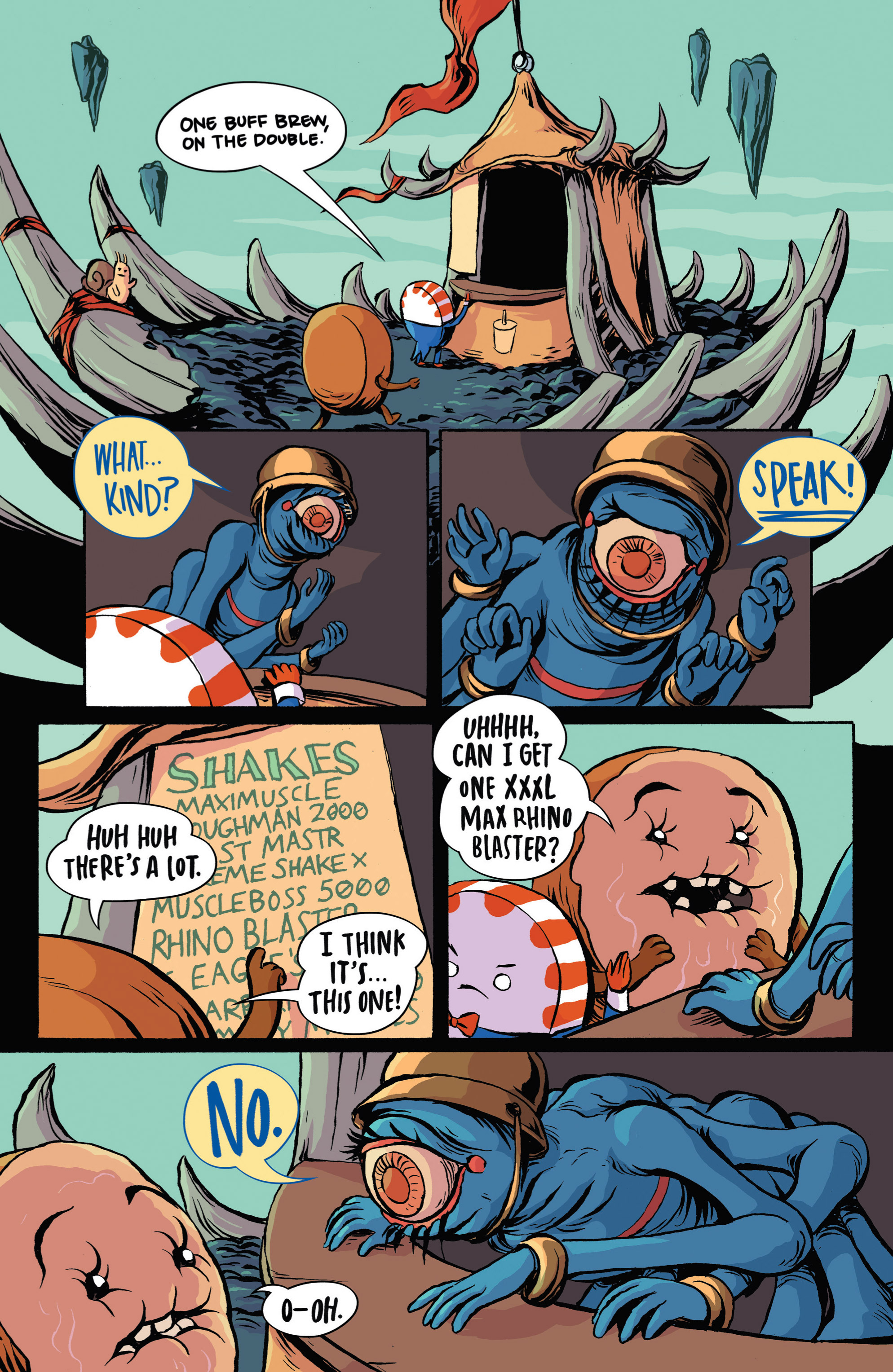 Read online Adventure Time: Candy Capers comic -  Issue #3 - 10