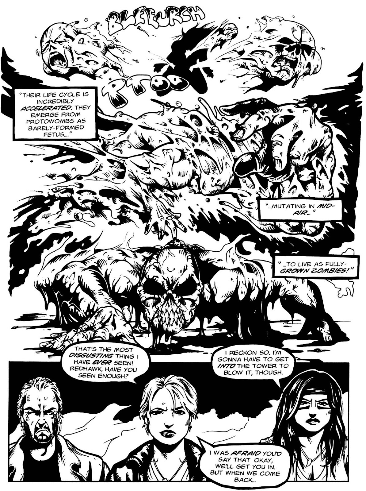 Read online Night of the Living Dead (1994) comic -  Issue #3 - 24