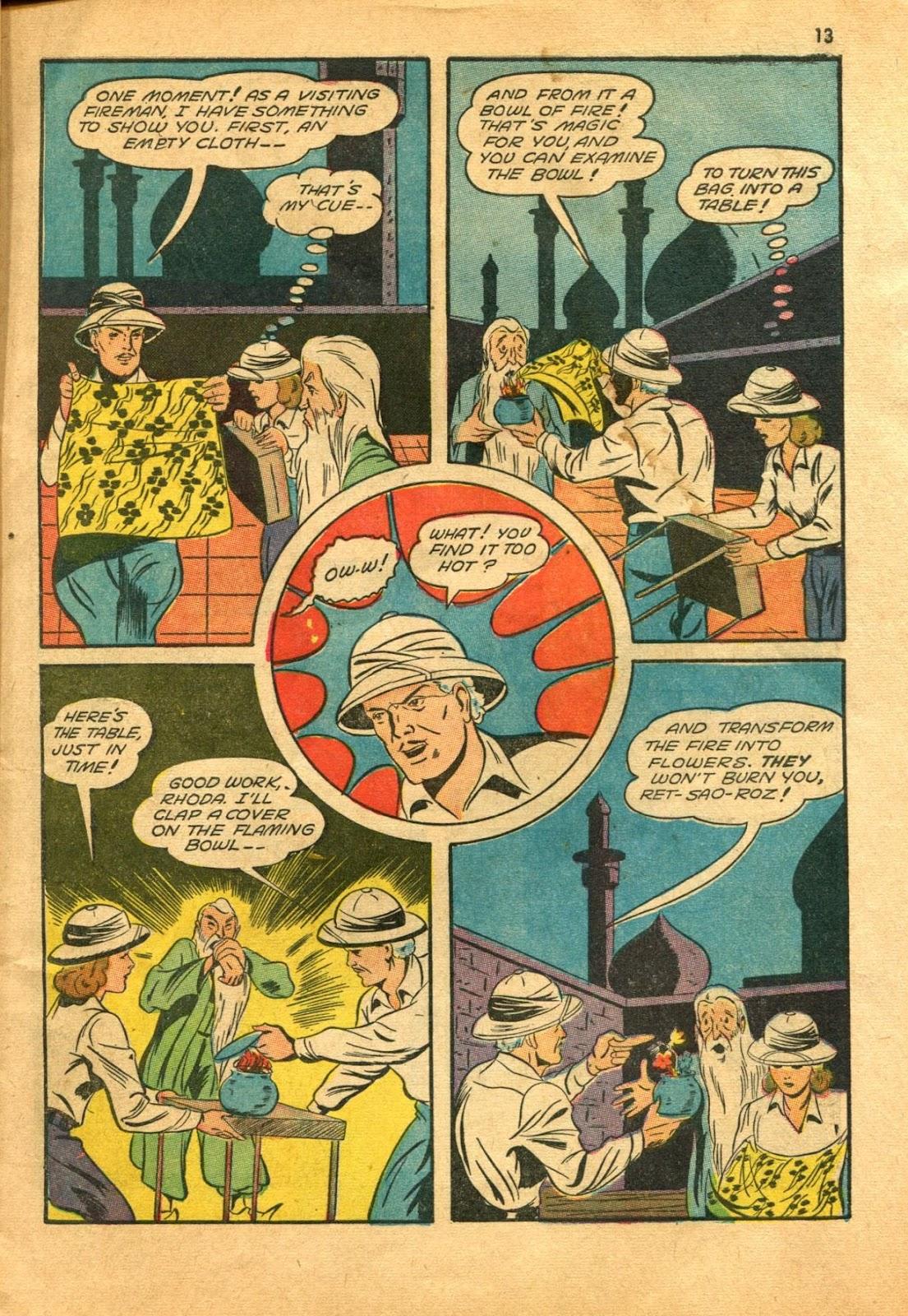 Read online Super-Magician Comics comic -  Issue #11 - 13