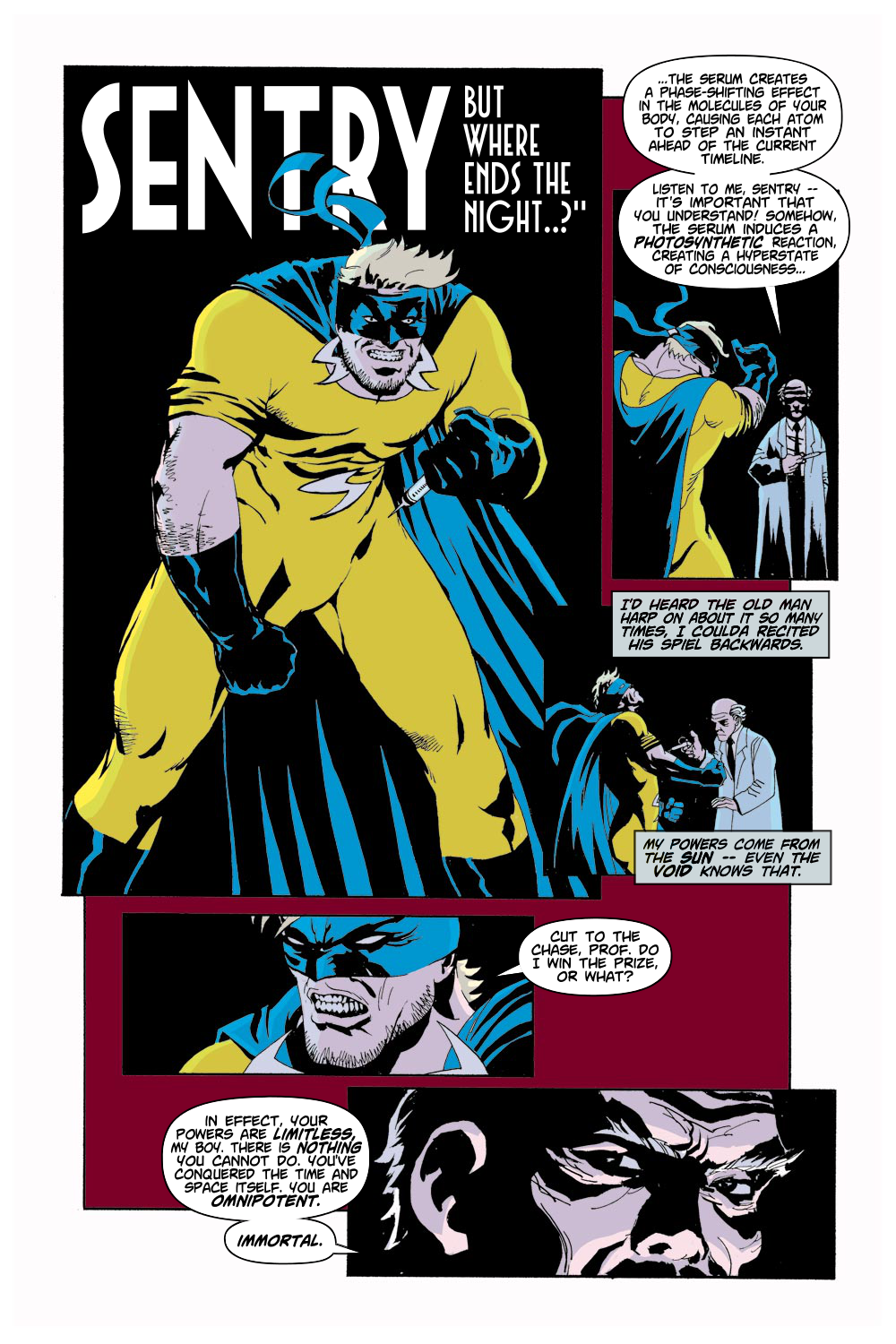 Read online Sentry (2000) comic -  Issue #1 - 12