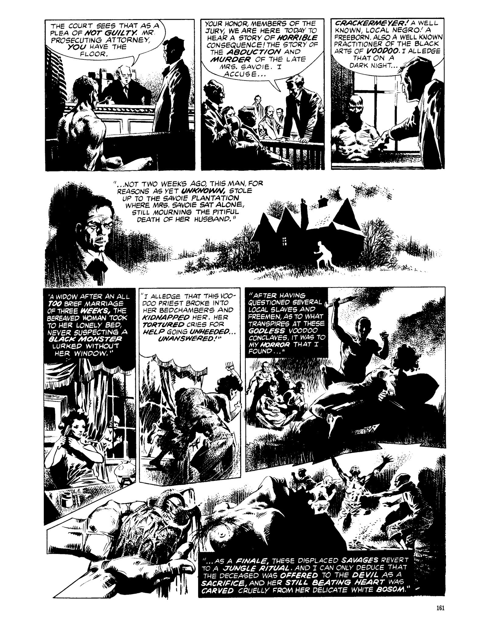 Read online Eerie Archives comic -  Issue # TPB 13 - 162