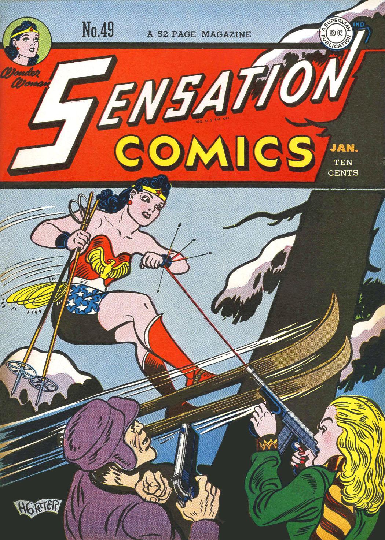 Read online Sensation (Mystery) Comics comic -  Issue #49 - 1