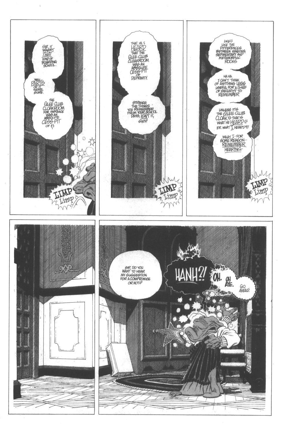 Cerebus Issue #296 #294 - English 7