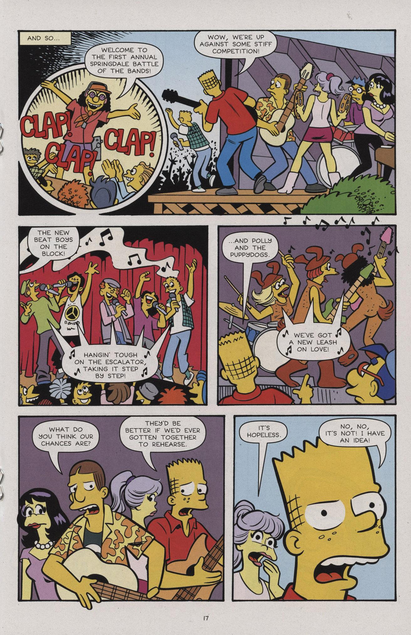 Read online Simpsons Comics comic -  Issue #183 - 19