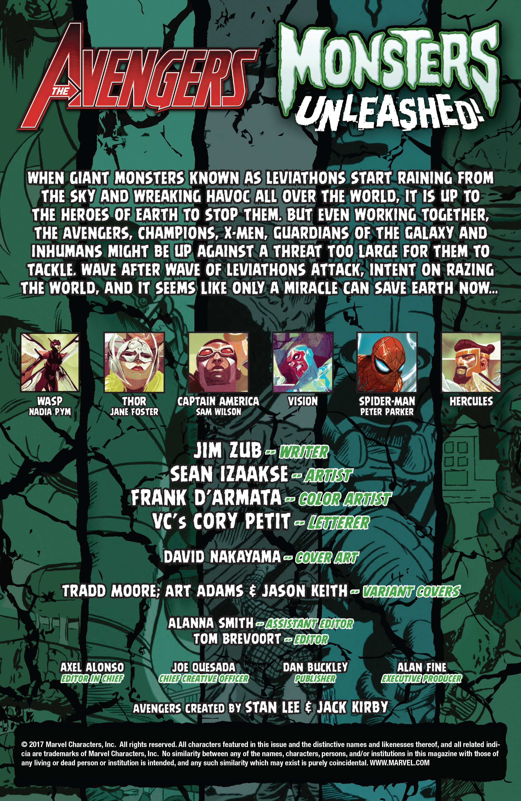 Read online Avengers (2016) comic -  Issue #1.MU - 2