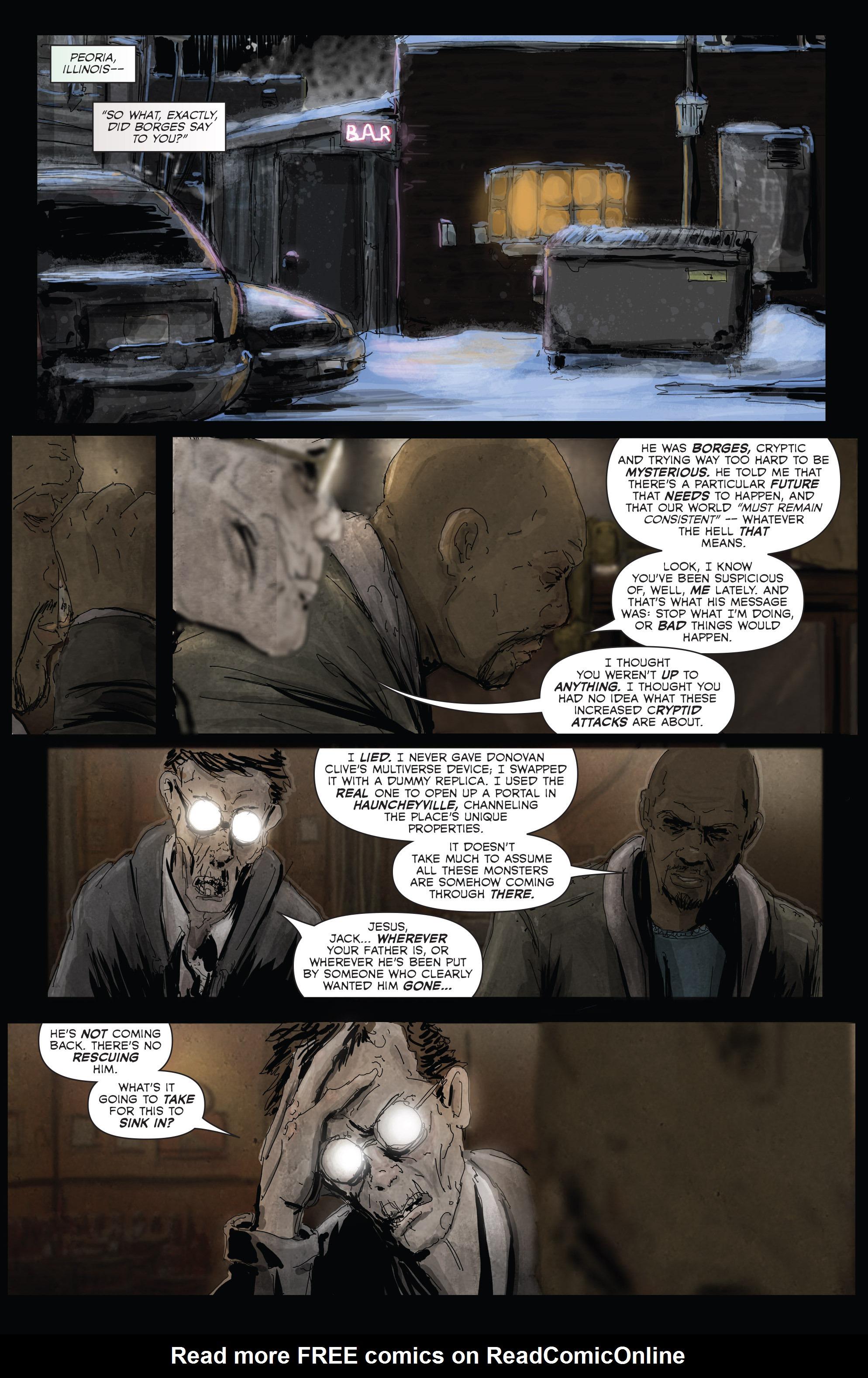 Read online Hoax Hunters (2012) comic -  Issue # TPB 3 - 62