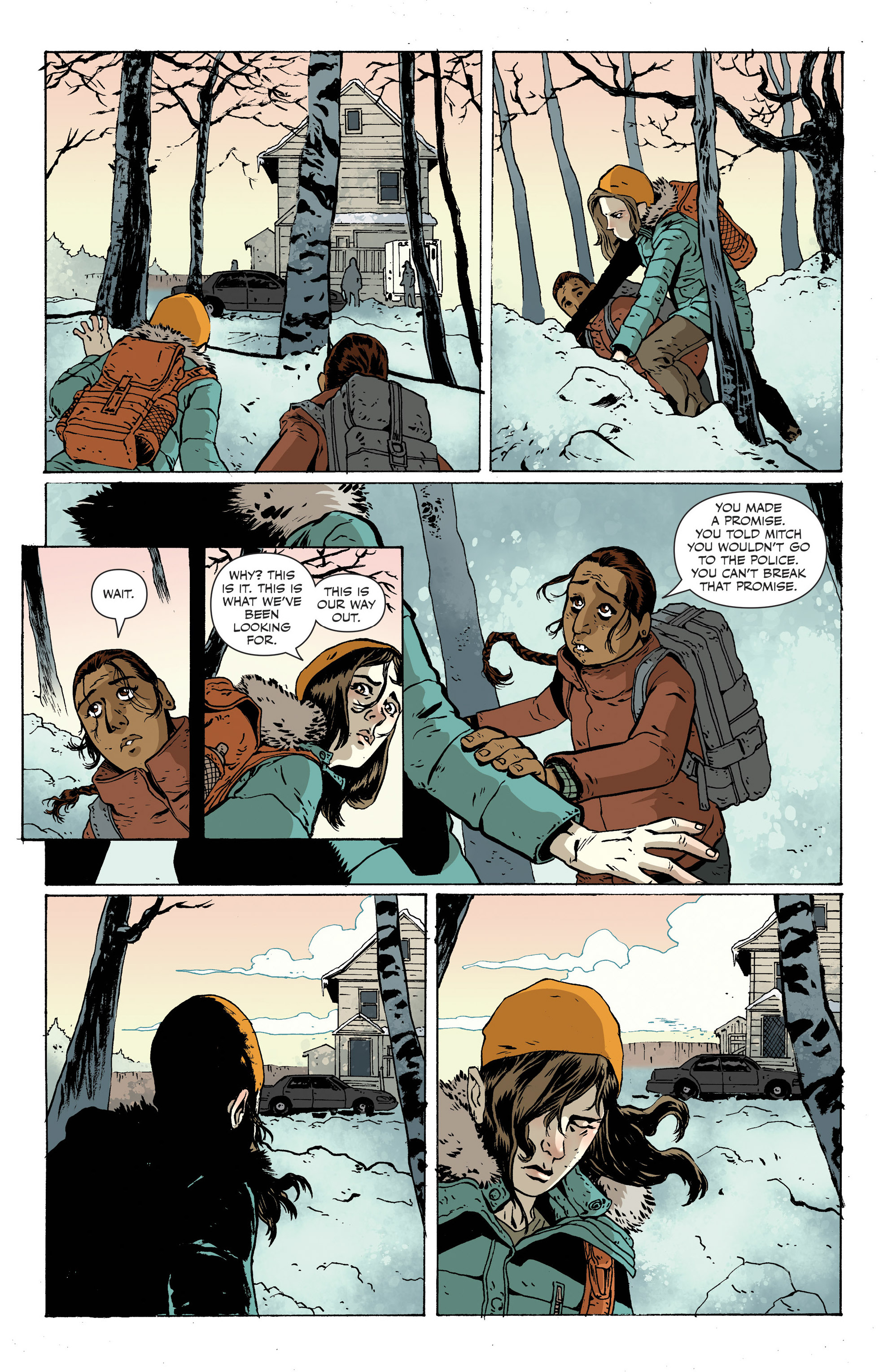 Read online Sheltered comic -  Issue #12 - 6