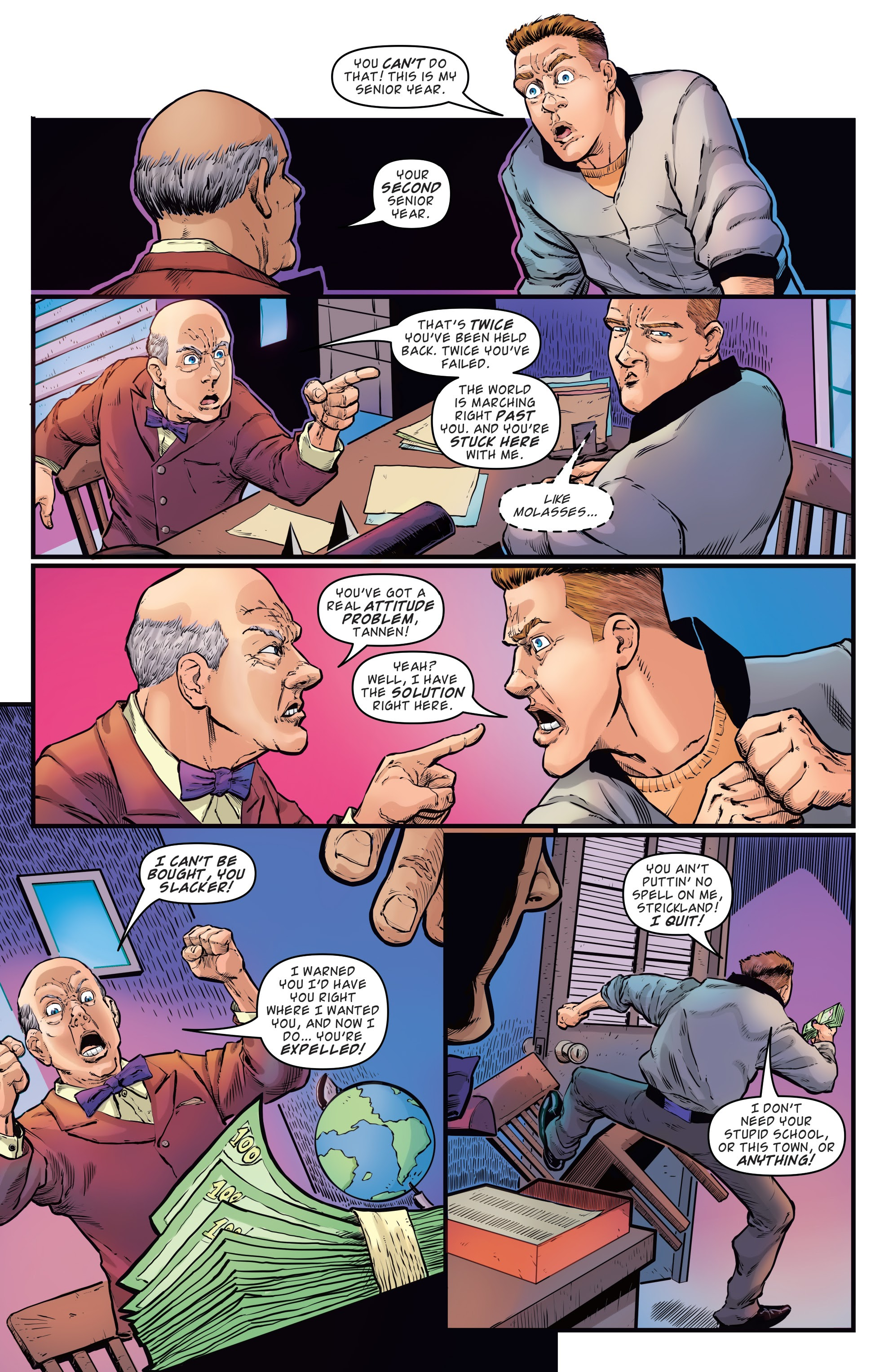 Read online Back to the Future: Biff to the Future comic -  Issue #1 - 20