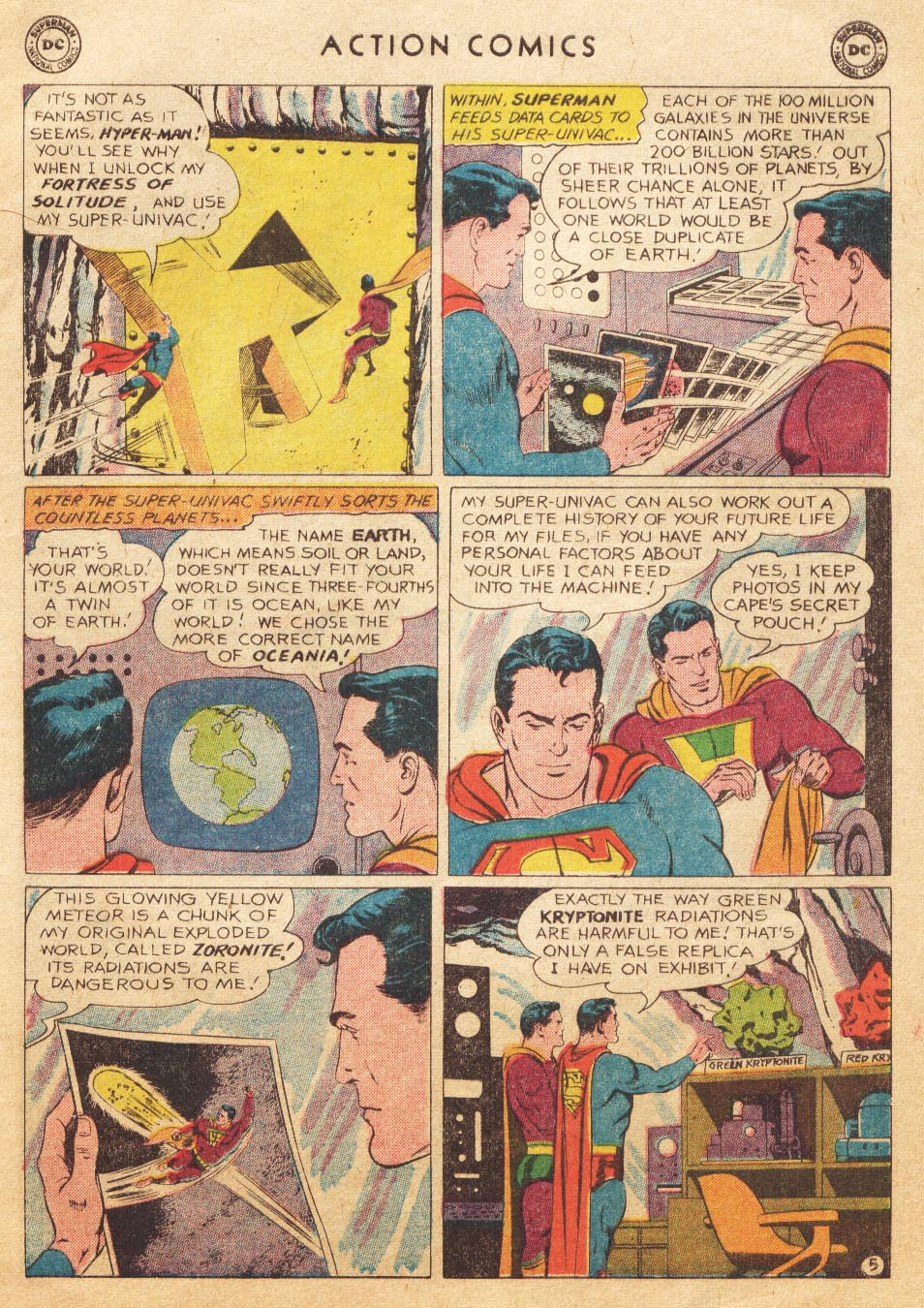 Read online Action Comics (1938) comic -  Issue #265 - 7