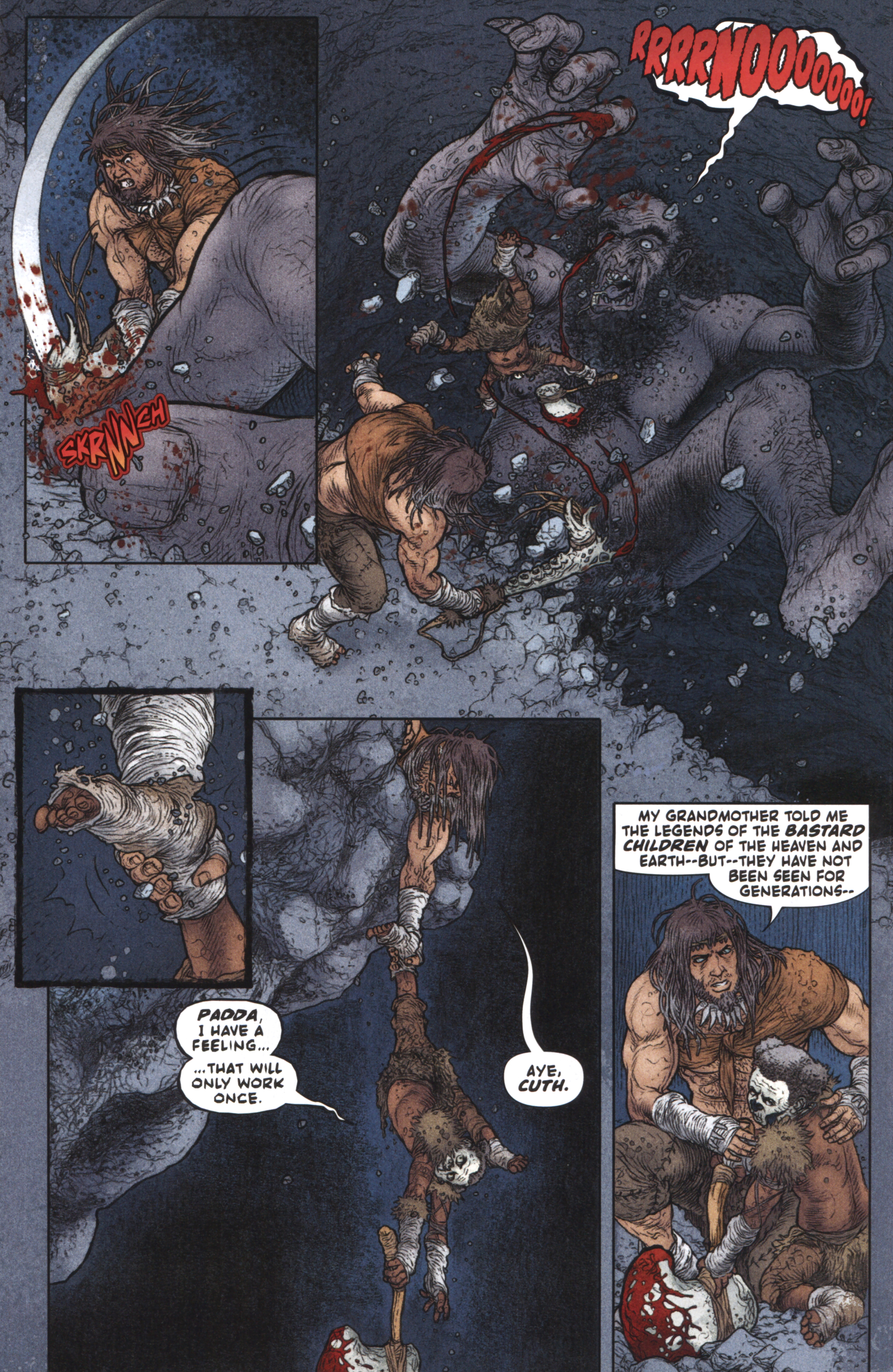 Read online Book of Death: Legends of the Geomancer comic -  Issue #3 - 8